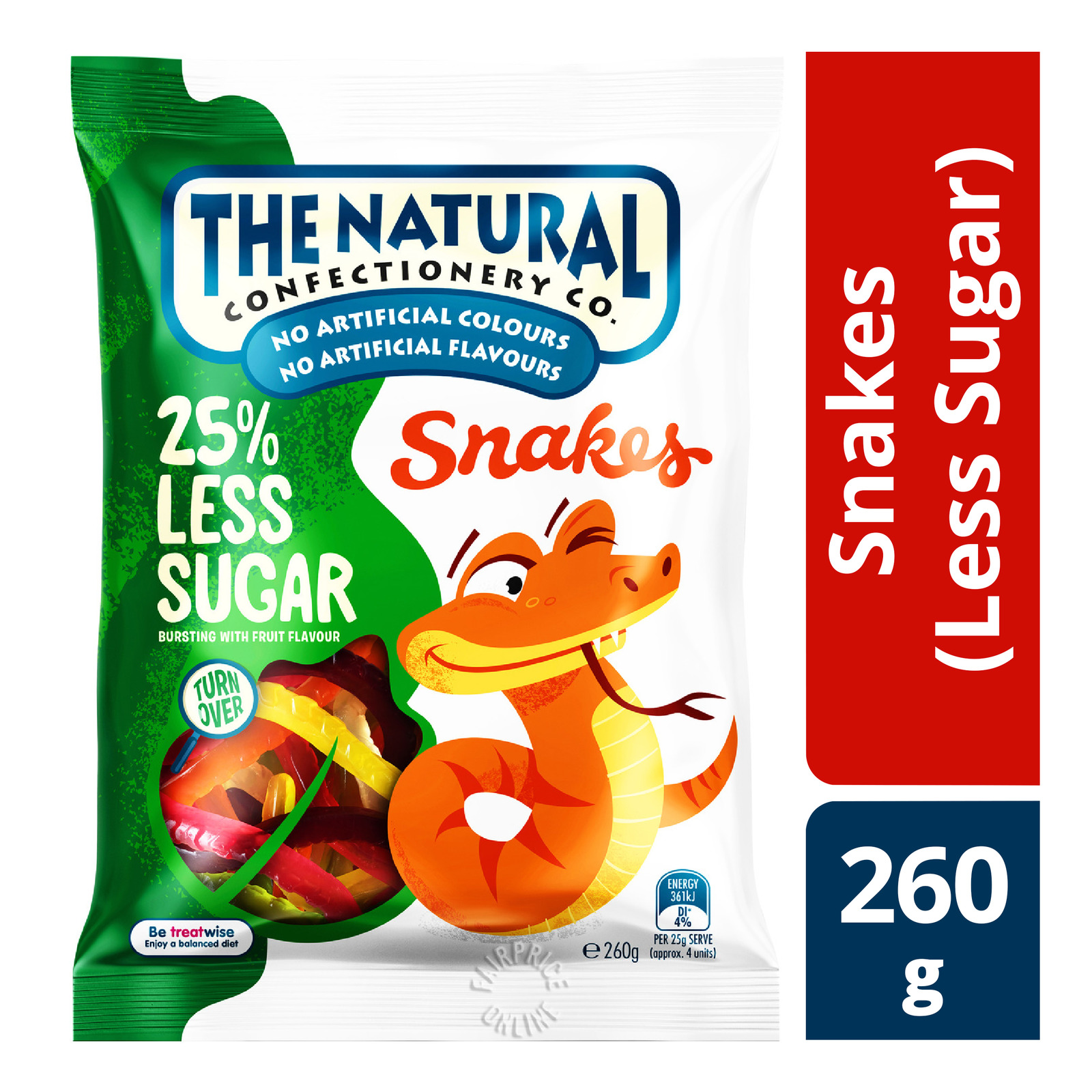 TNCC Gummies - Snakes (Less Sugar)