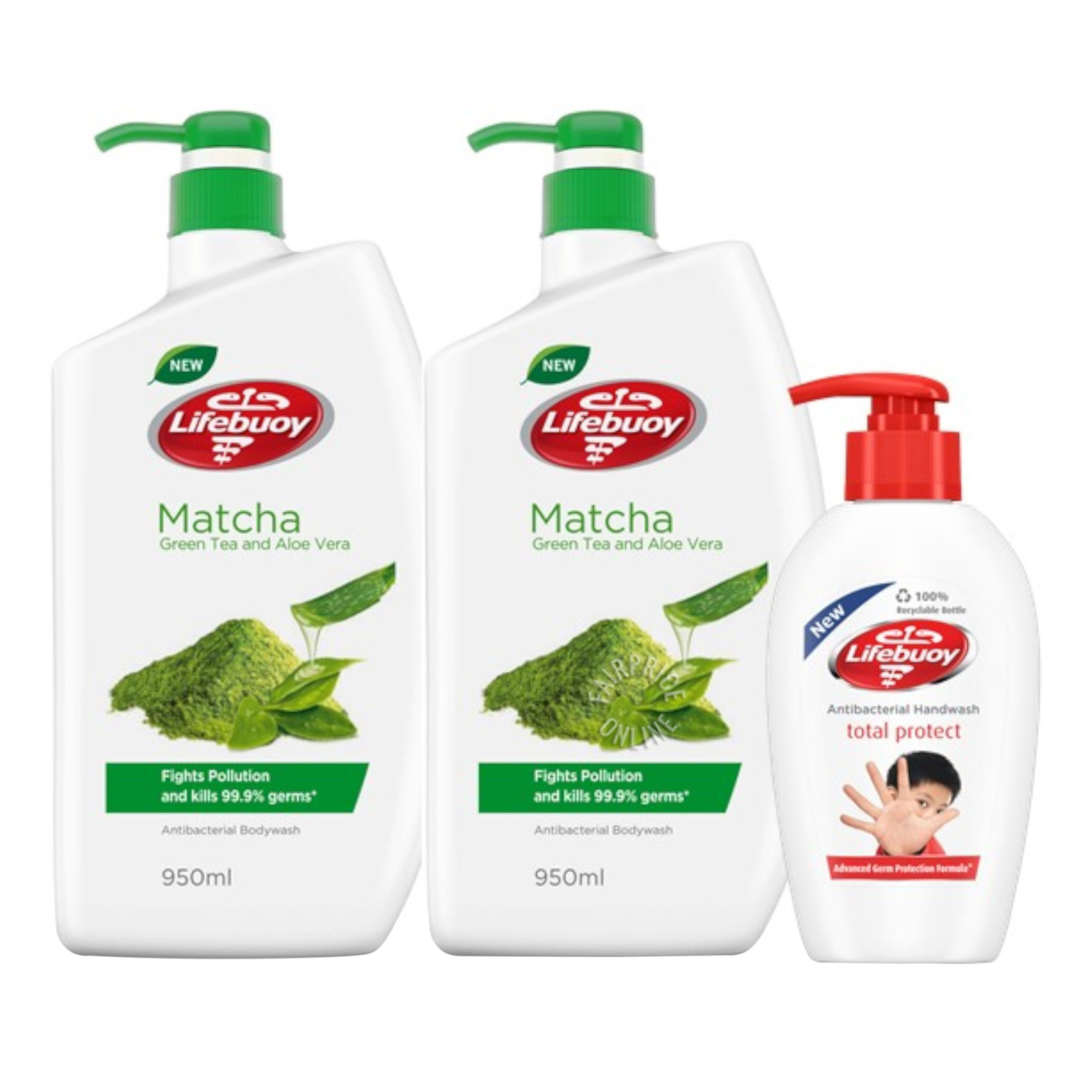 Lifebuoy Antibacterial Body Wash + Hand Wash