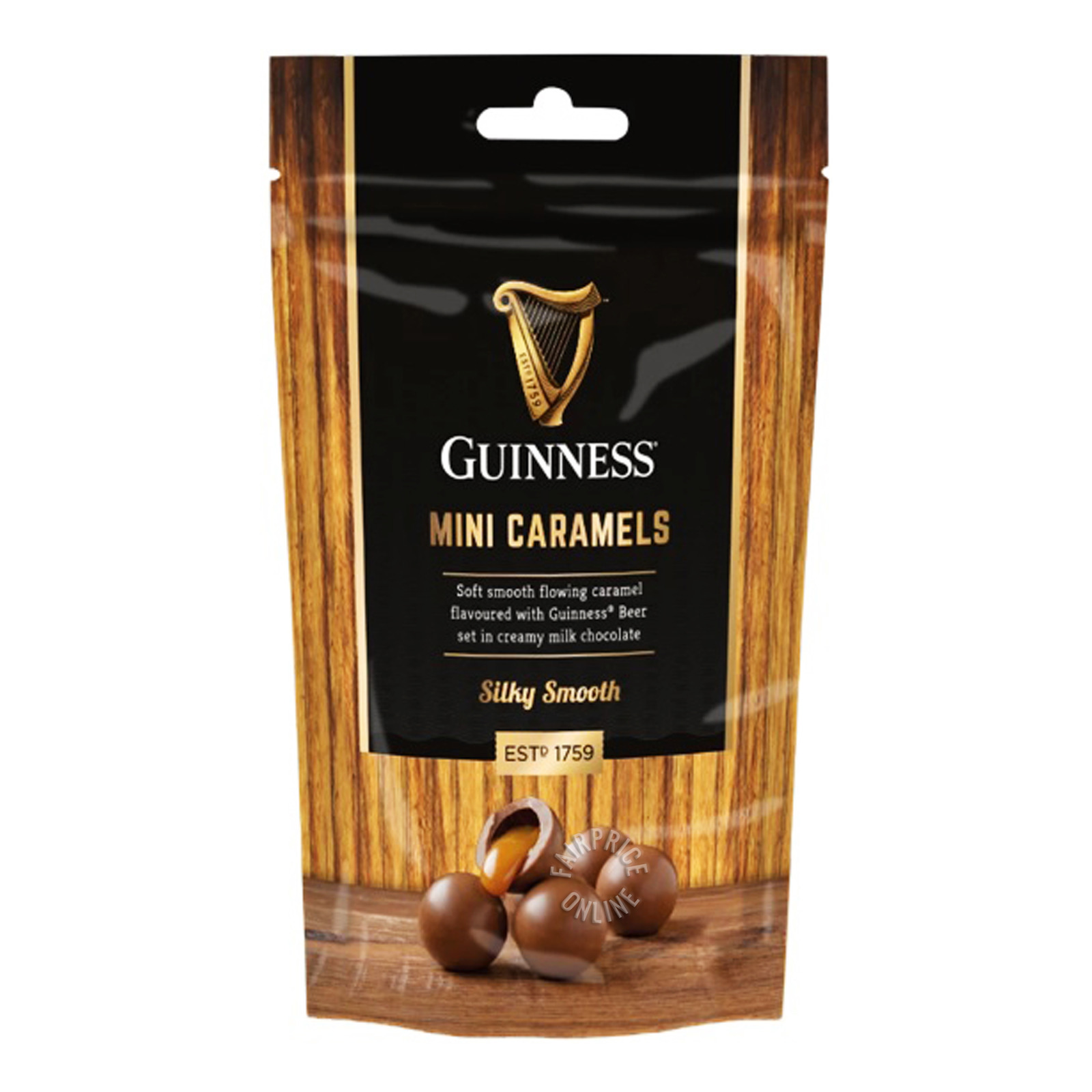 Guinness Mini Caramels Chocolate - Silky Smooth