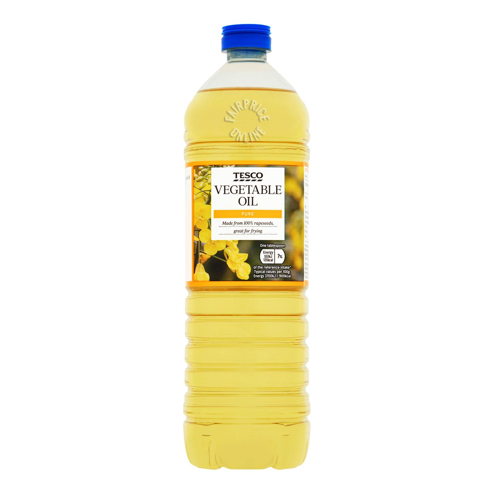Tesco Pure Vegetable Oil