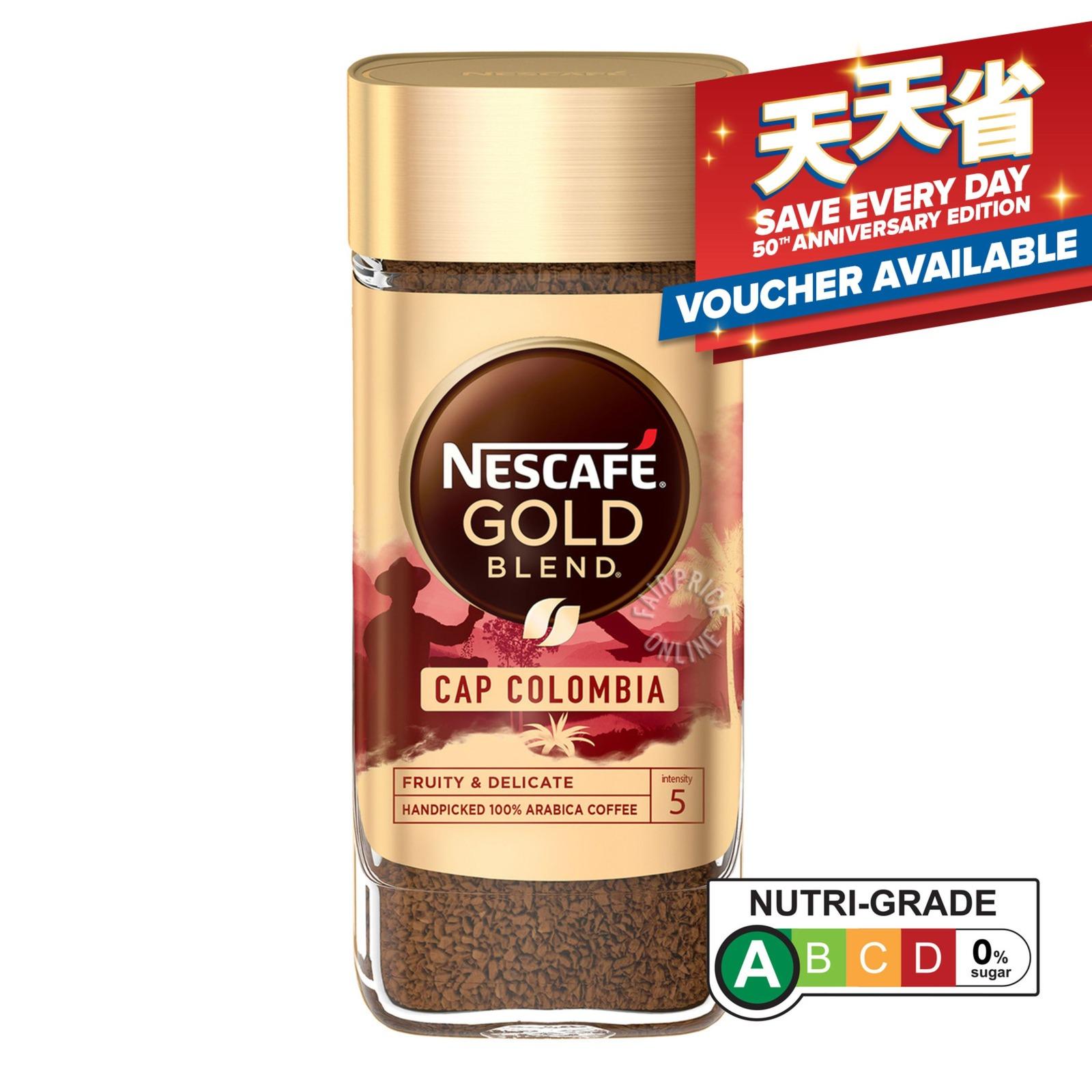 Nescafe Gold Origins Freeze Dried Arabica Coffee - Cap Colombia