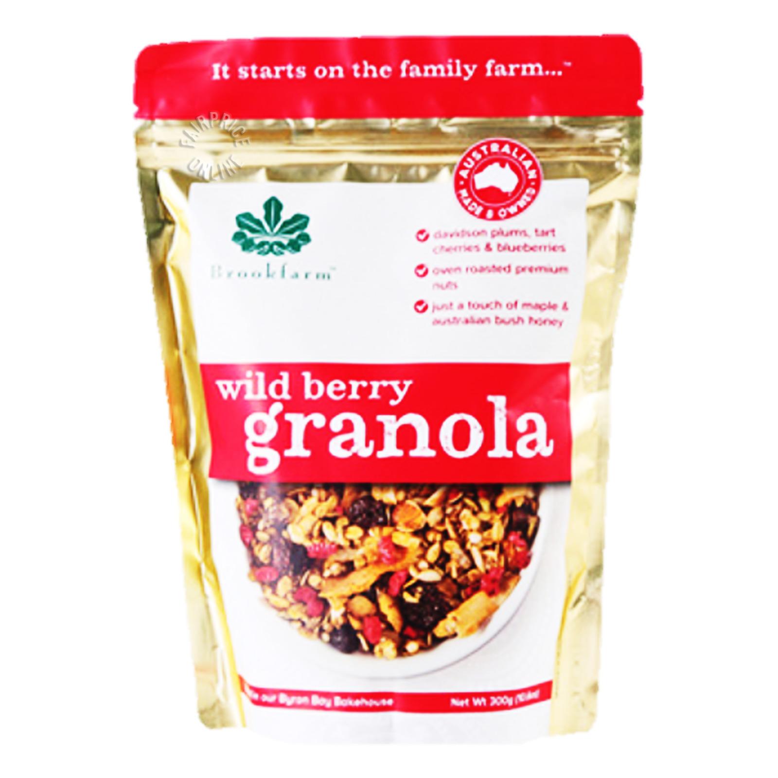 Brookfarm Granola - Wild Berry
