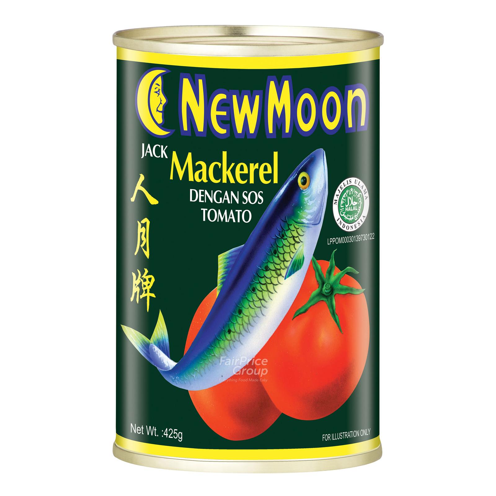 New Moon Jack Mackerel in Tomato Sauce