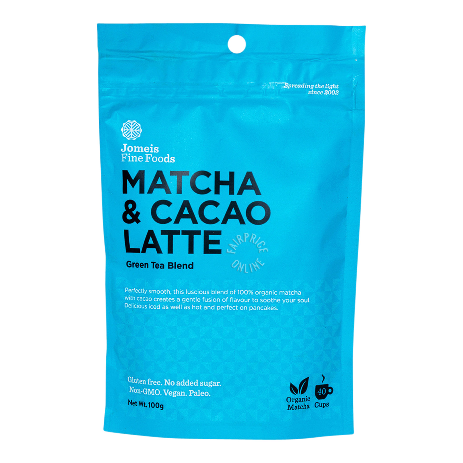 Jomeis Fine Foods Latte - Matcha & Cacao