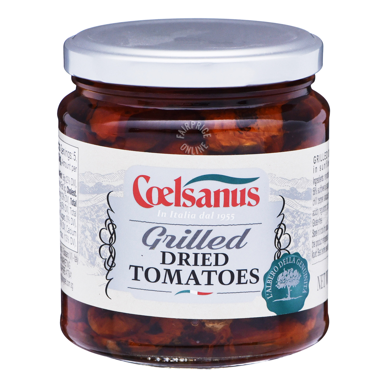 Coelsanus Dried Tomatoes in Sunflower Oil - Grilled