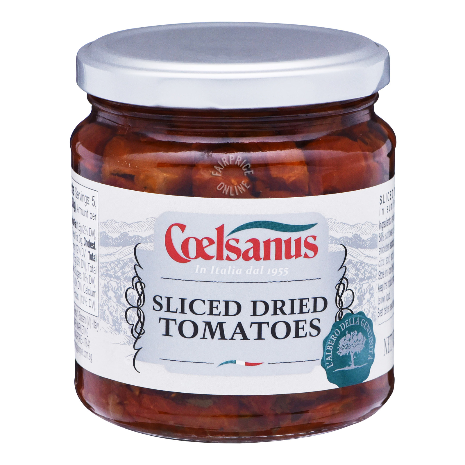 Coelsanus Dried Tomatoes in Sunflower Oil - Sliced