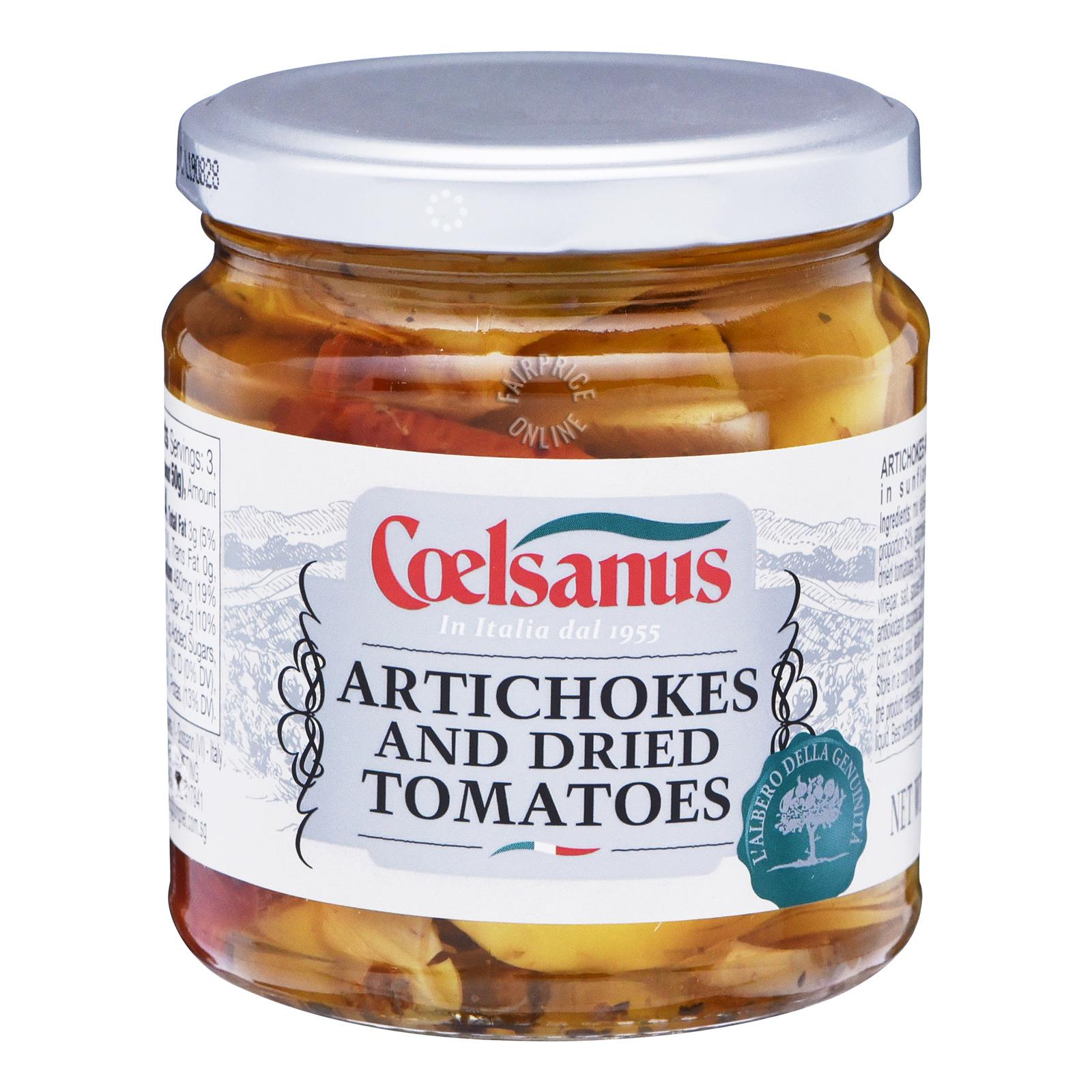 Colesanus Dried Tomatoes in Sunflower Oil - Artichokes