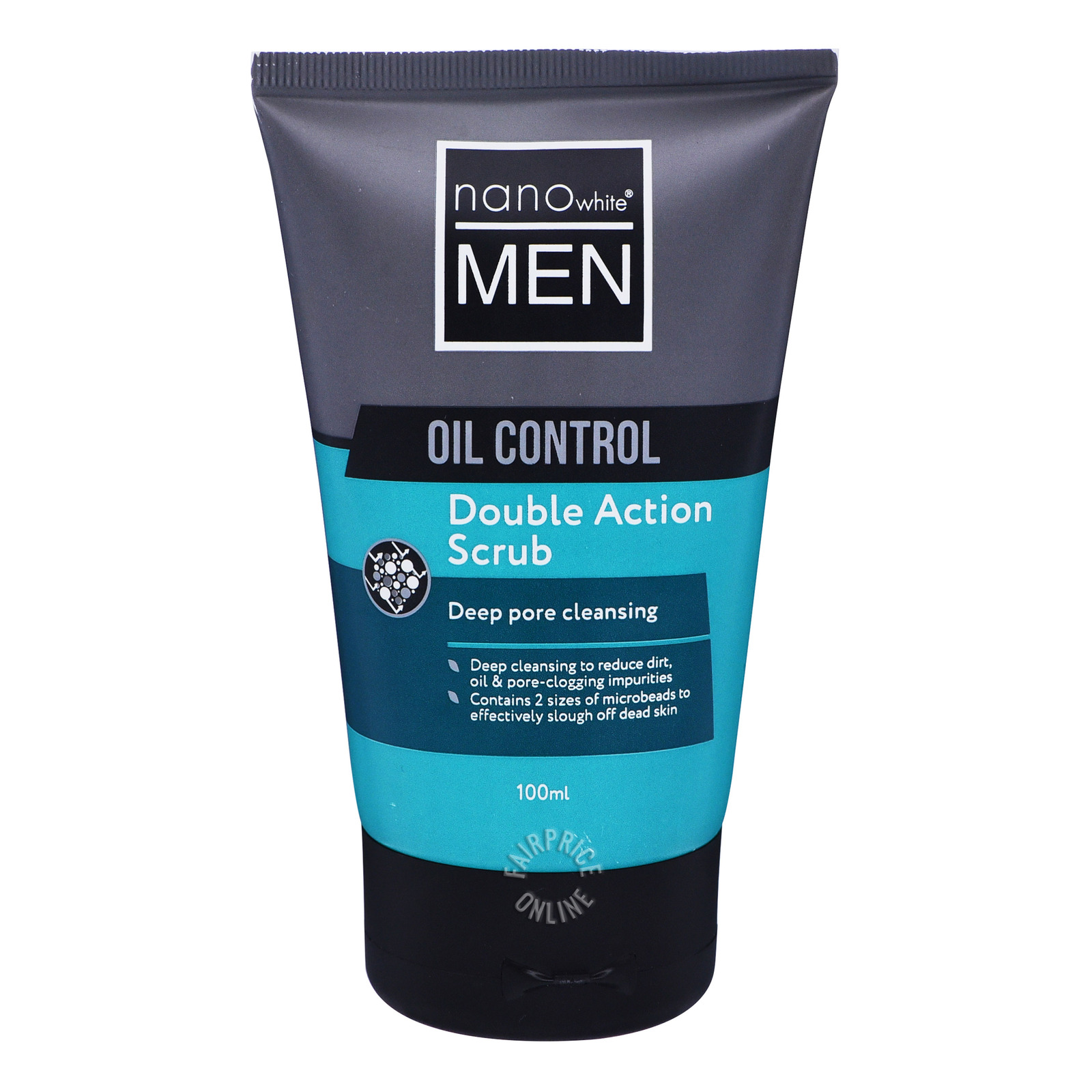 Nano White Men Oil Control Face Cleanser - Oil Control