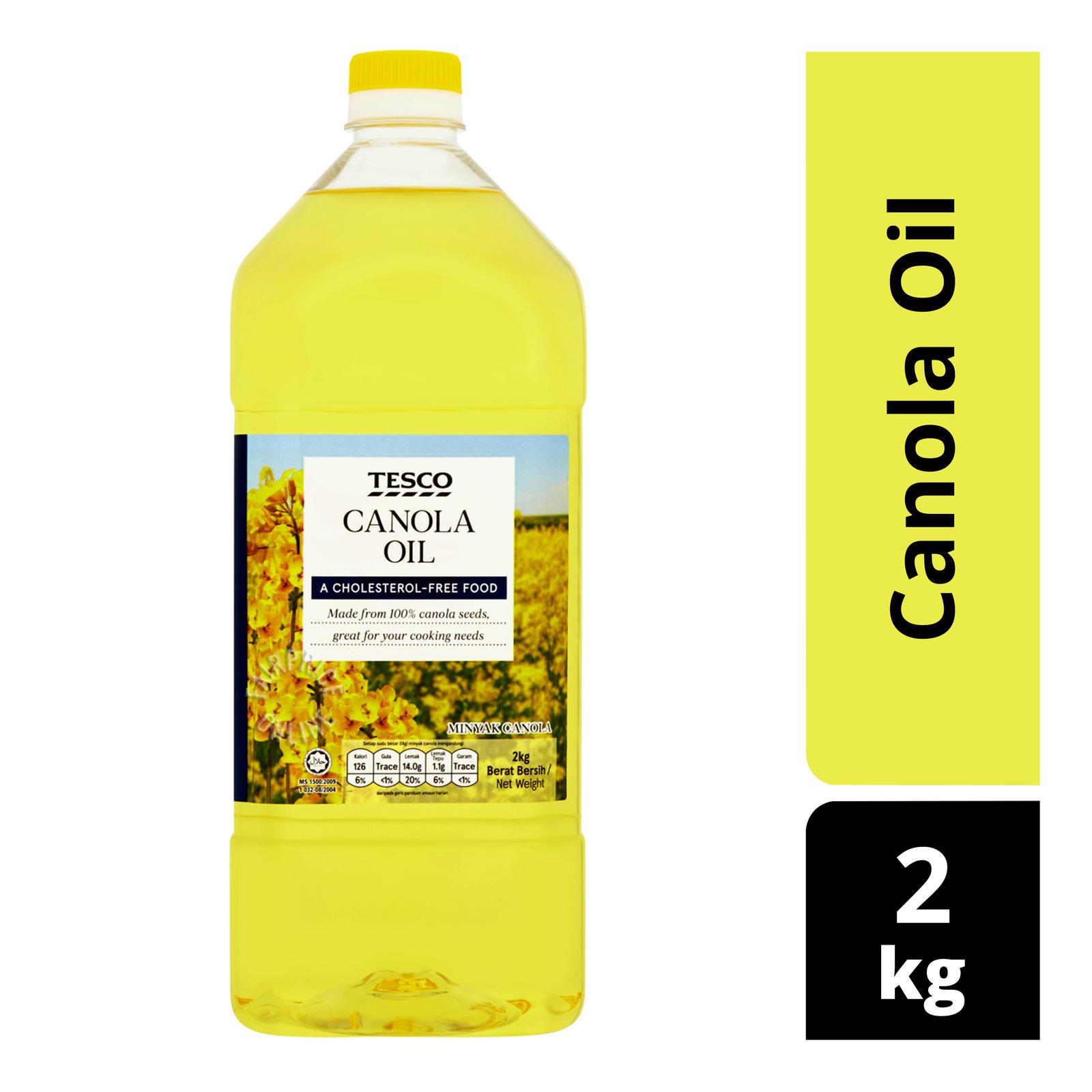 Tesco Canola Oil