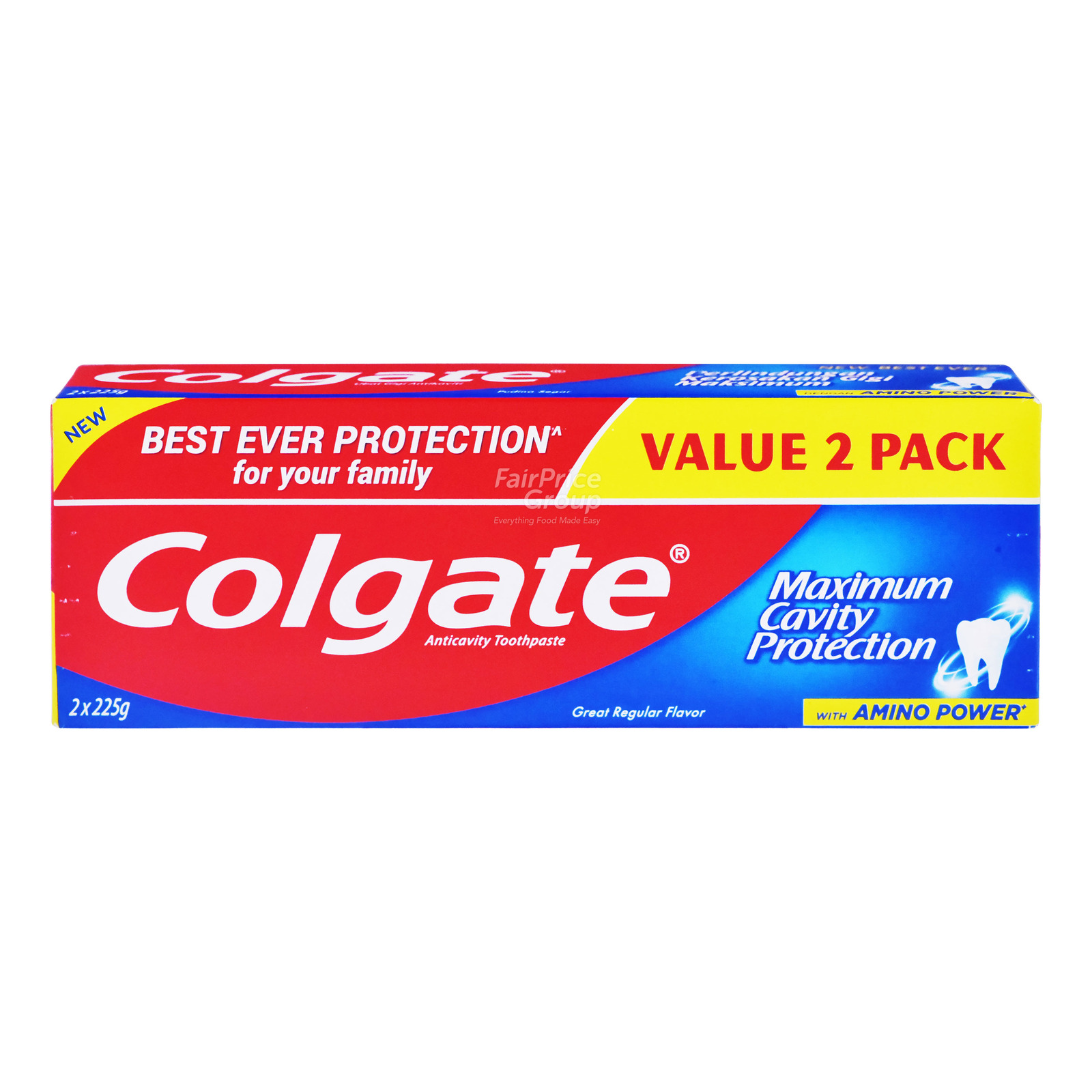 Colgate Maximum Cavity Protection Great Regular Flavour ToothpasteValuepack175g x 3