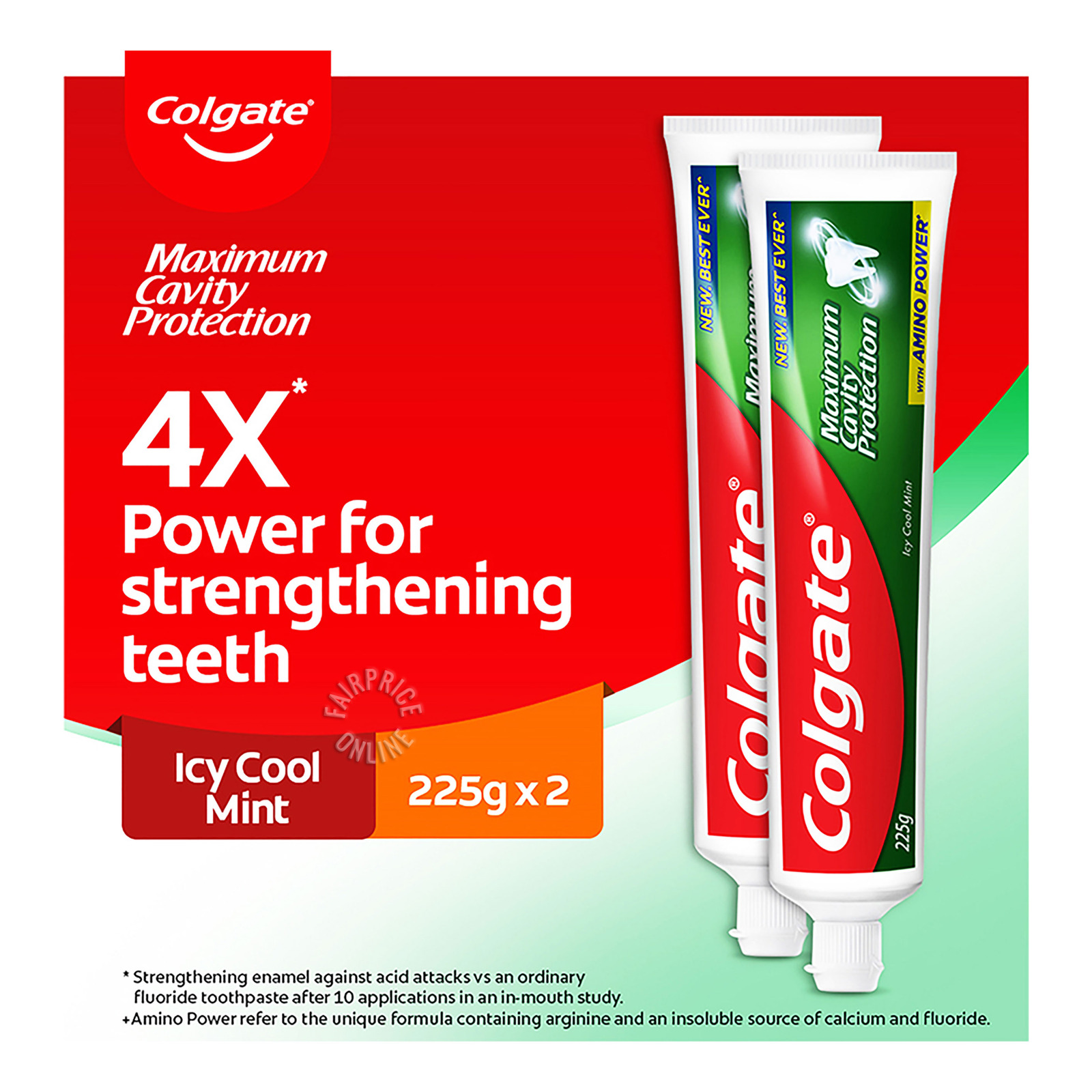 Colgate Maximum Cavity Protection Icy Cool Mint ToothpasteValuepack175g x 3