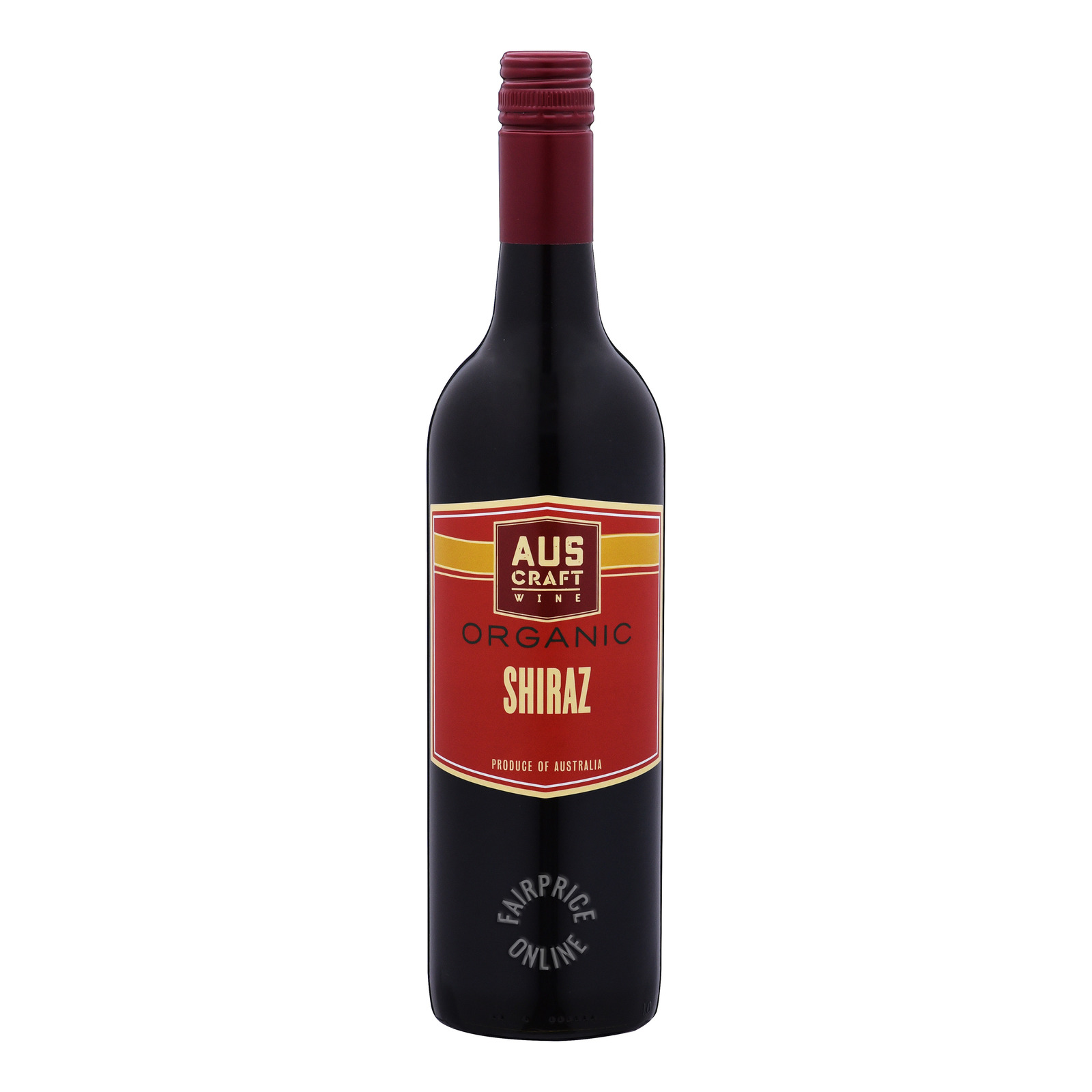 Aus Craft Organic Red Wine - Shiraz