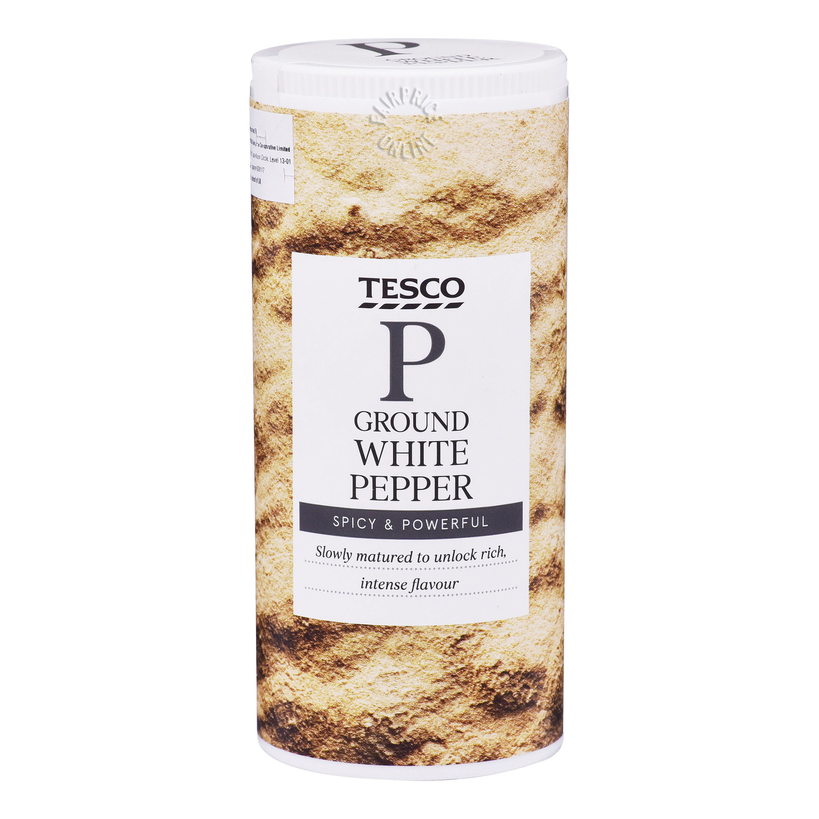 Tesco Ground Pepper - White