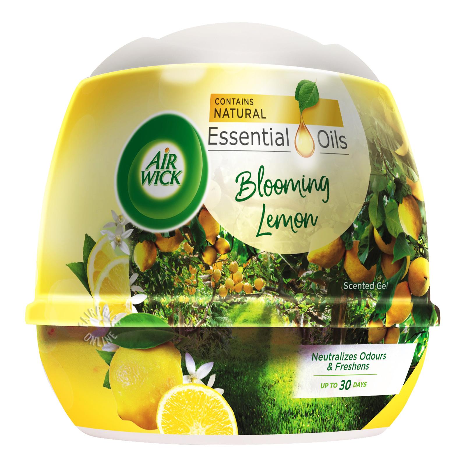 Airwick Scented Gel - Blooming Lemon
