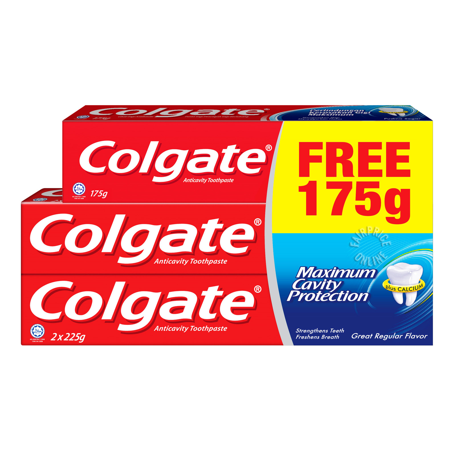 Colgate Maximum Cavity ProtectToothpaste-GreatRegular