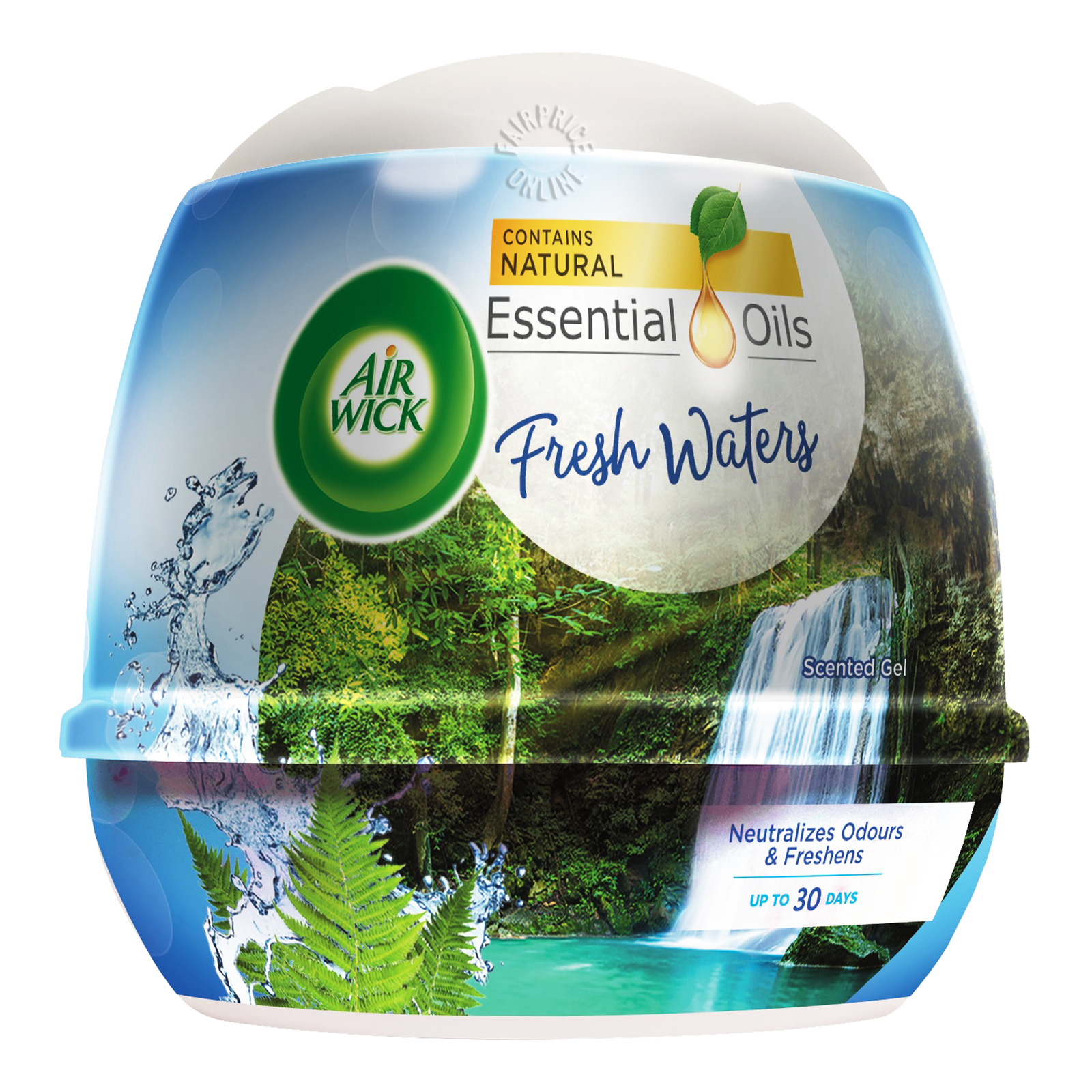 Airwick Scented Gel - Fresh Water