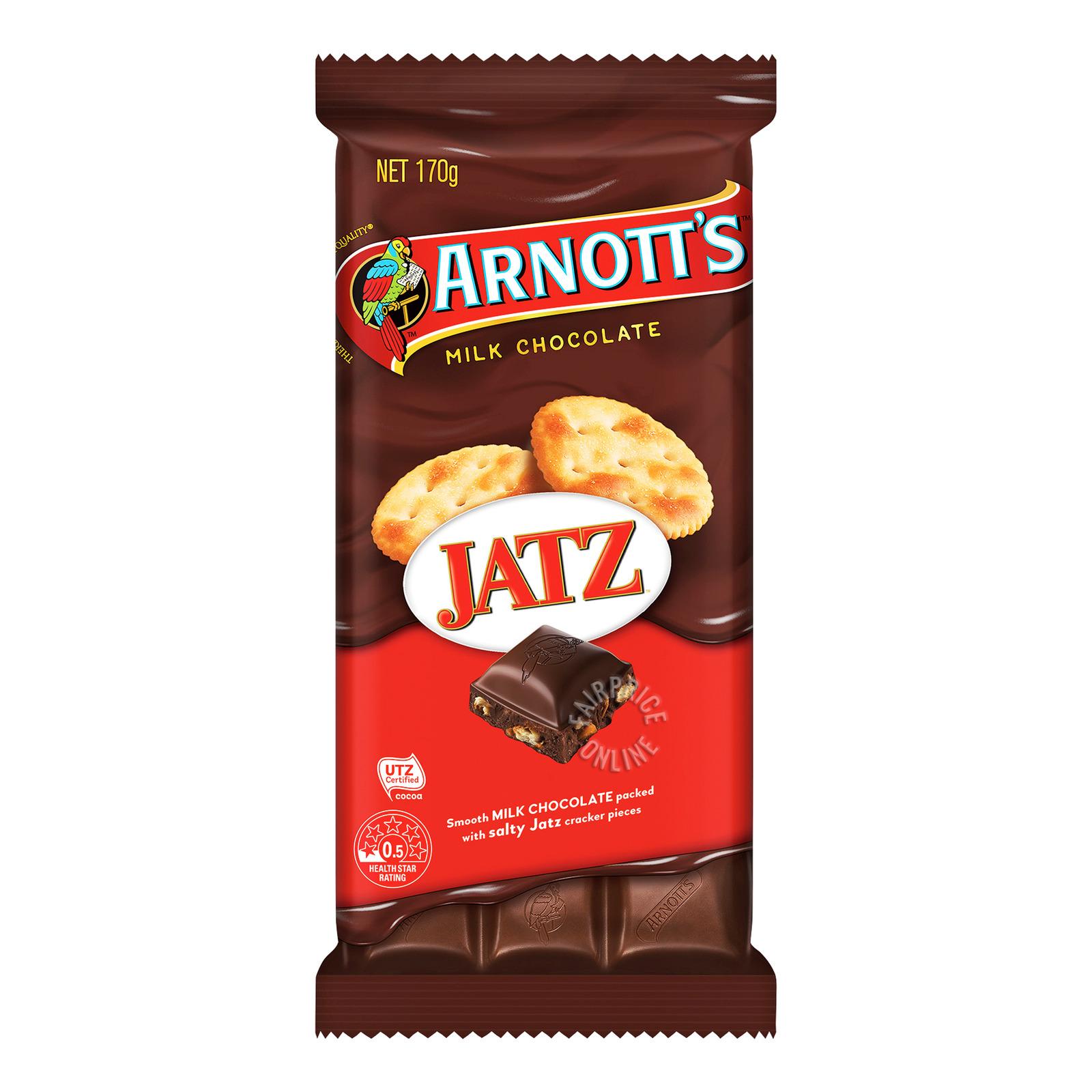 Arnott's Milk Chocolate Bar - Jatz