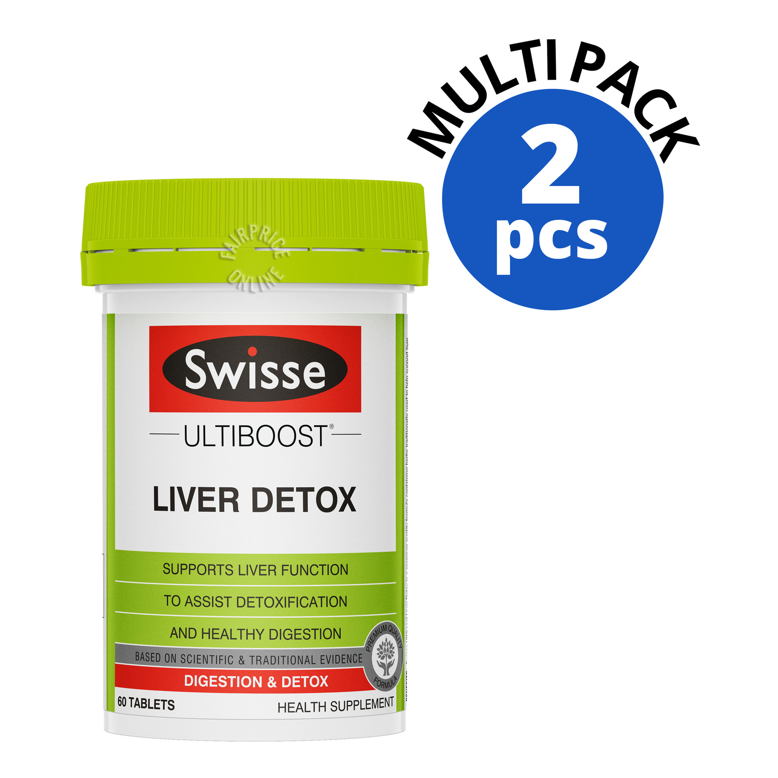 Swisse Supplement Tablets - Liver Detox