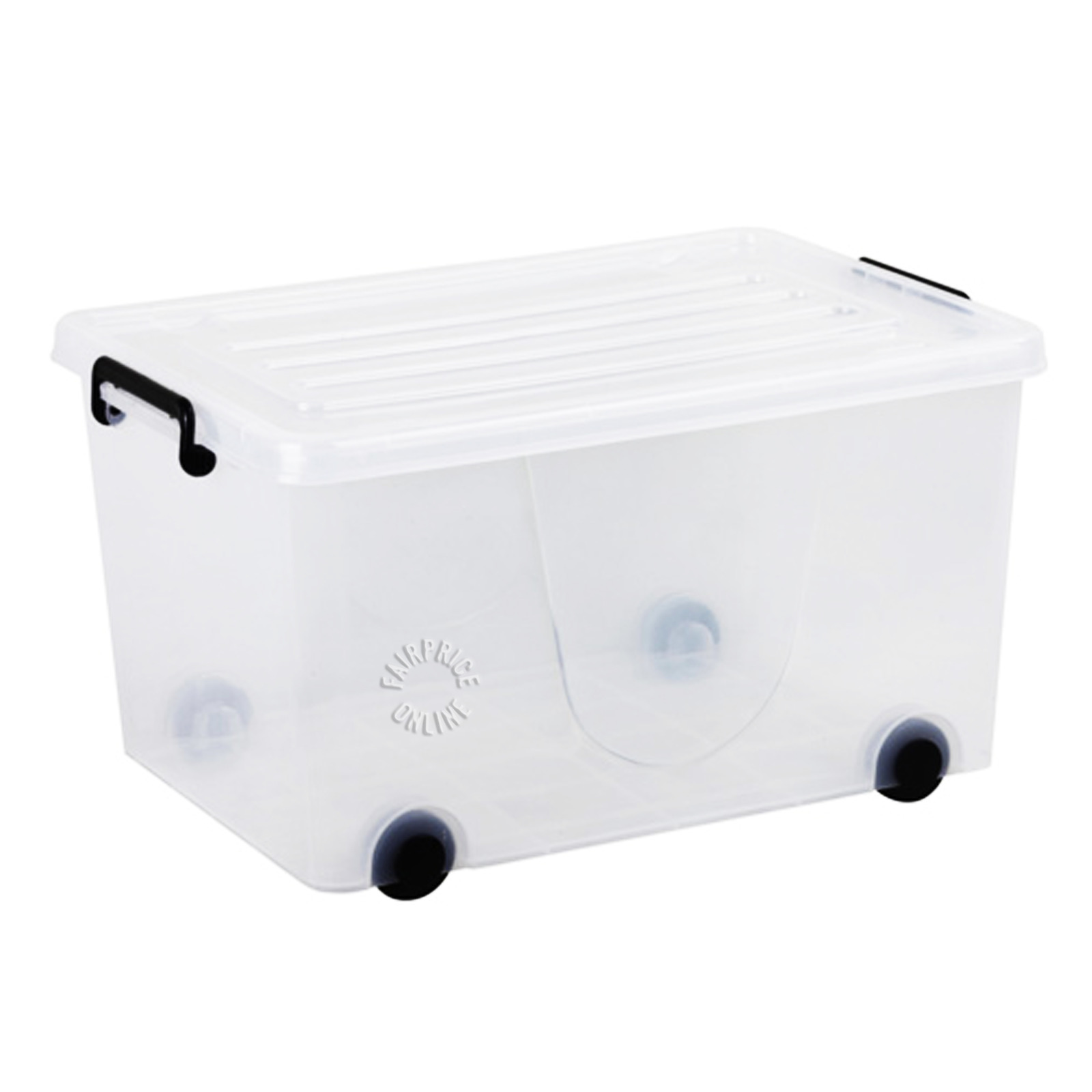 HomeProud Storage Container with Wheels (100L)
