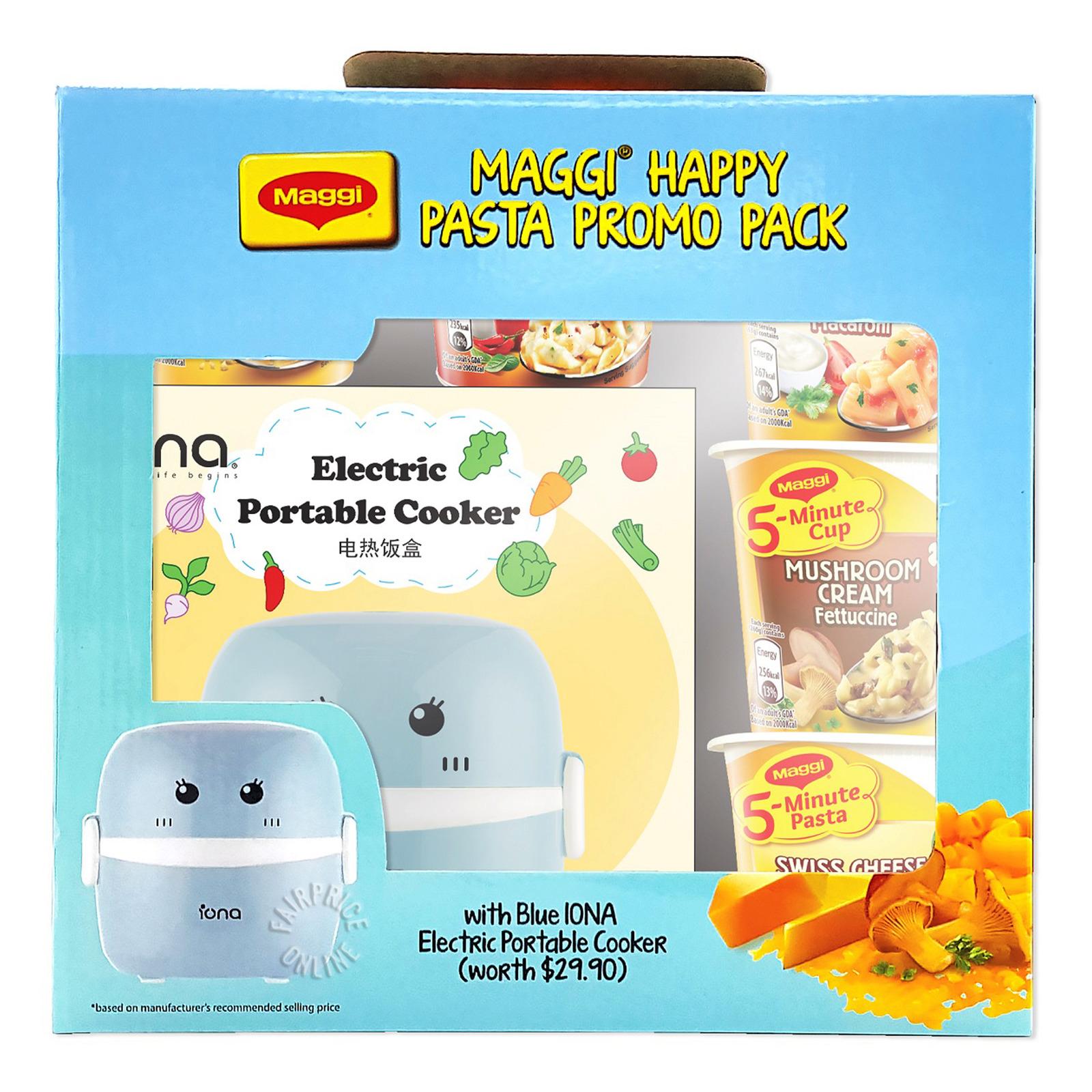 Maggi Happy Pasta + Electric Portable Cooker (Blue)