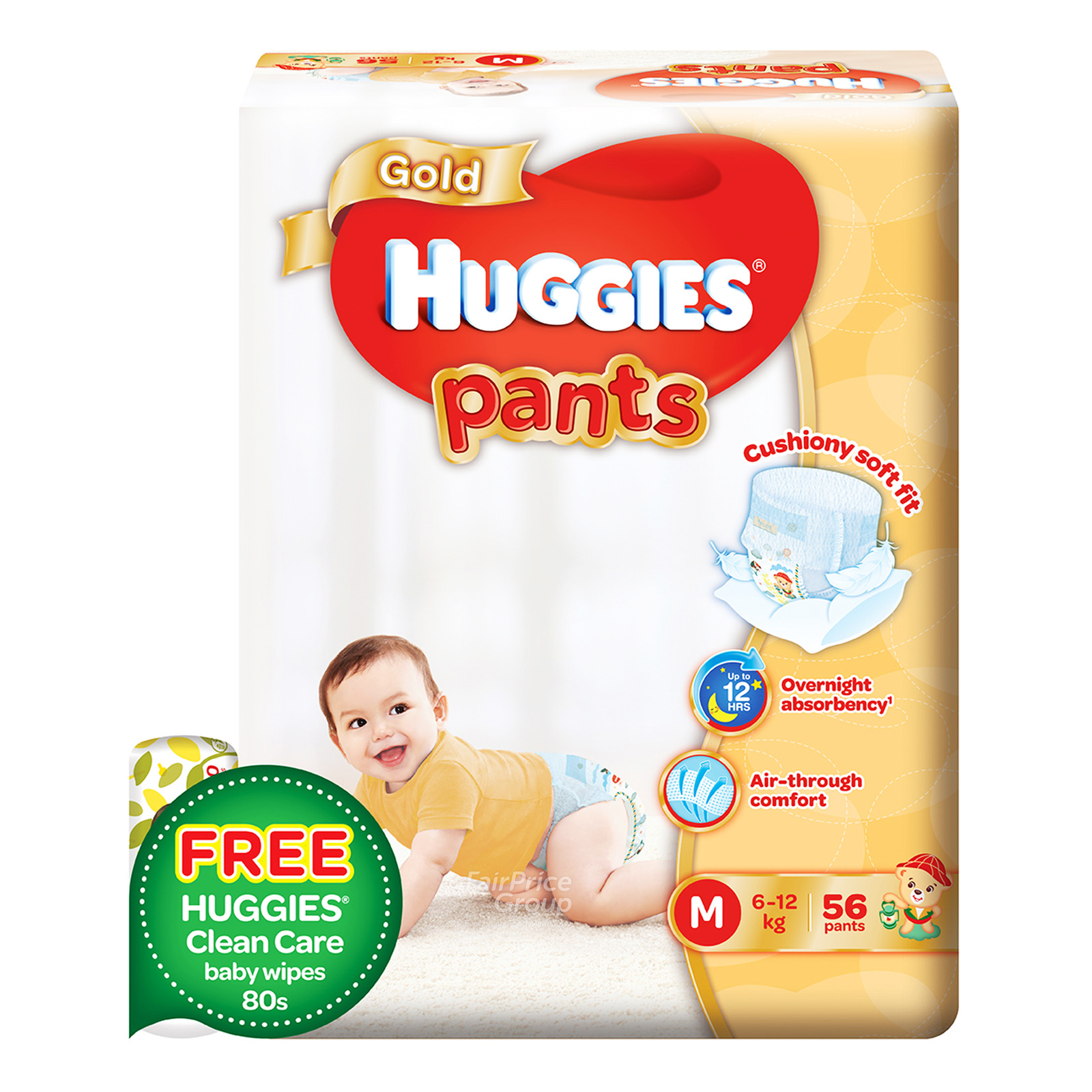 Huggies Gold Pants - M (6-12kg)