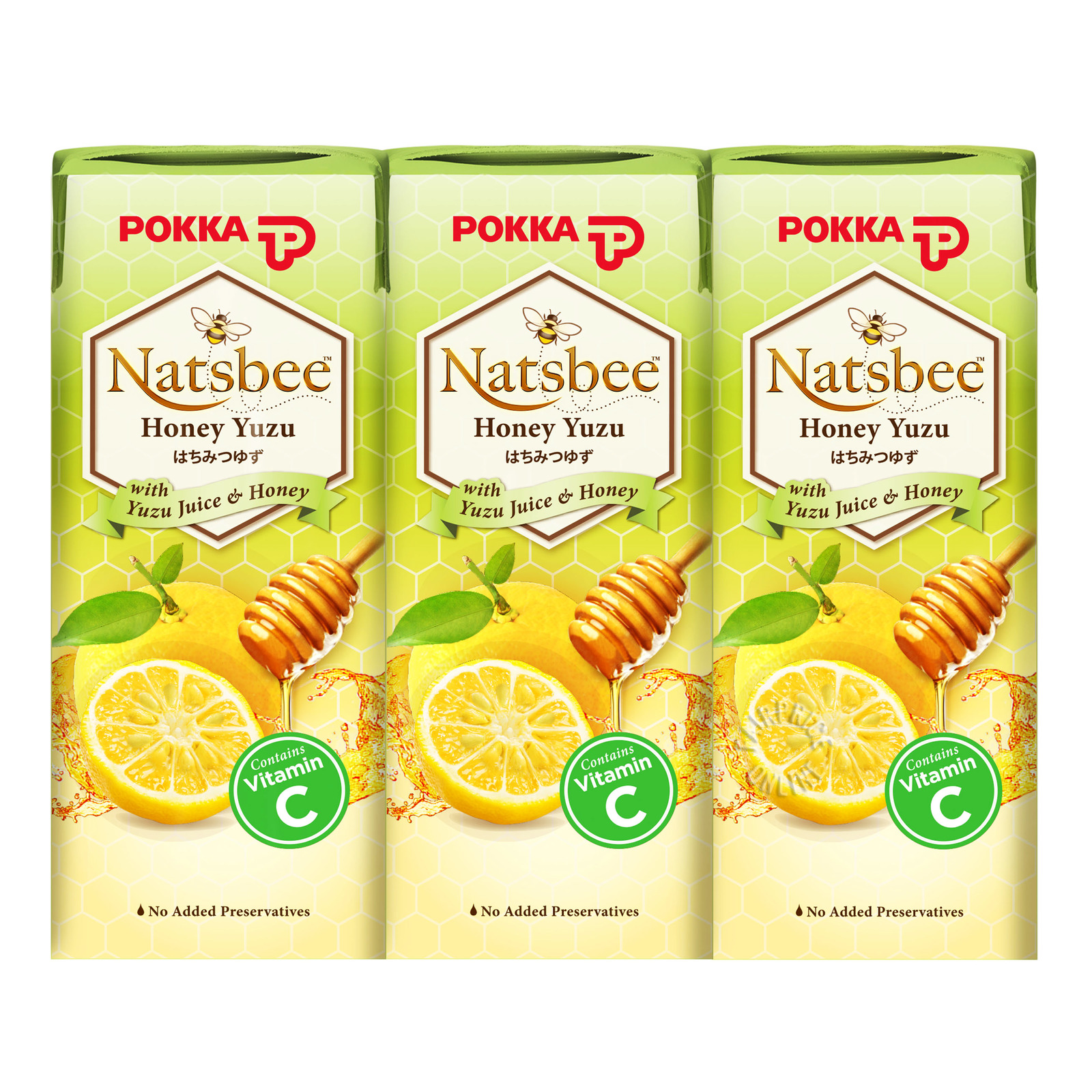 Pokka Nastbee Packet Drink - Honey Yuzu