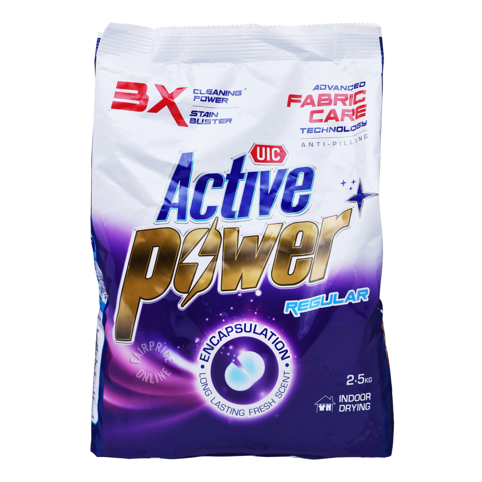 UIC Active Power+ Powder Detergent - Regular