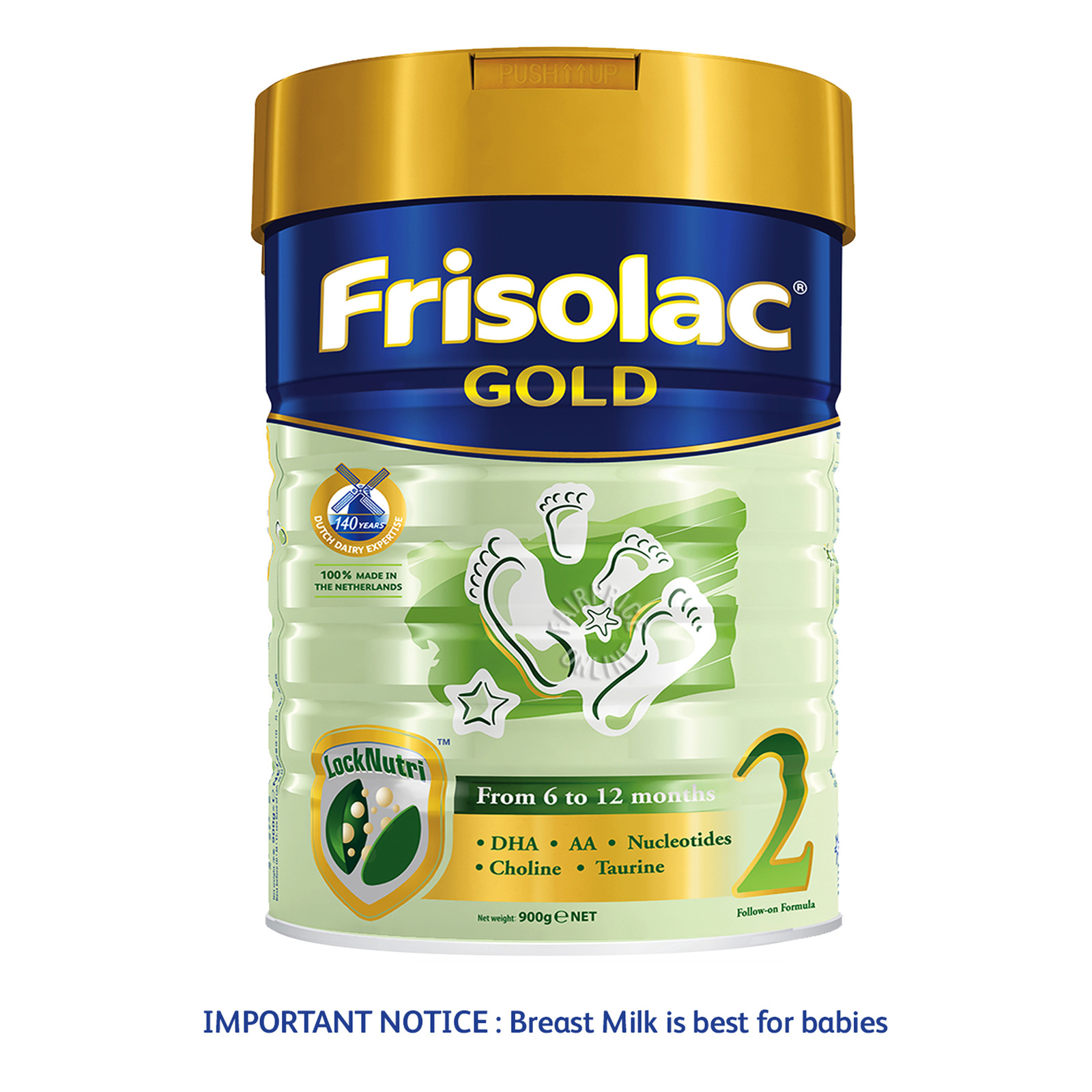 Frisolac Gold Follow-On Milk Formula - Stage 2