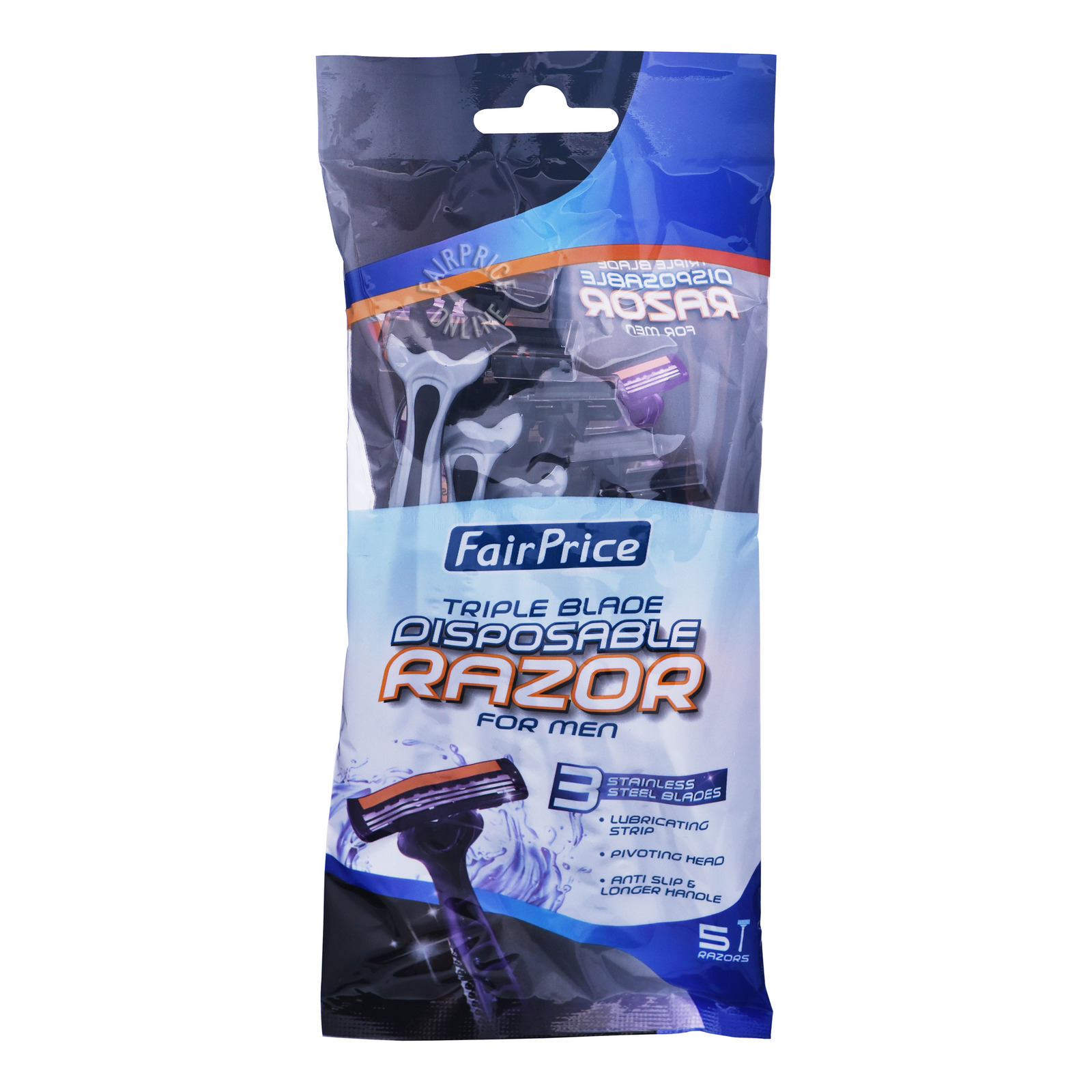 FairPrice Men Disposable Razor - Triple Blade