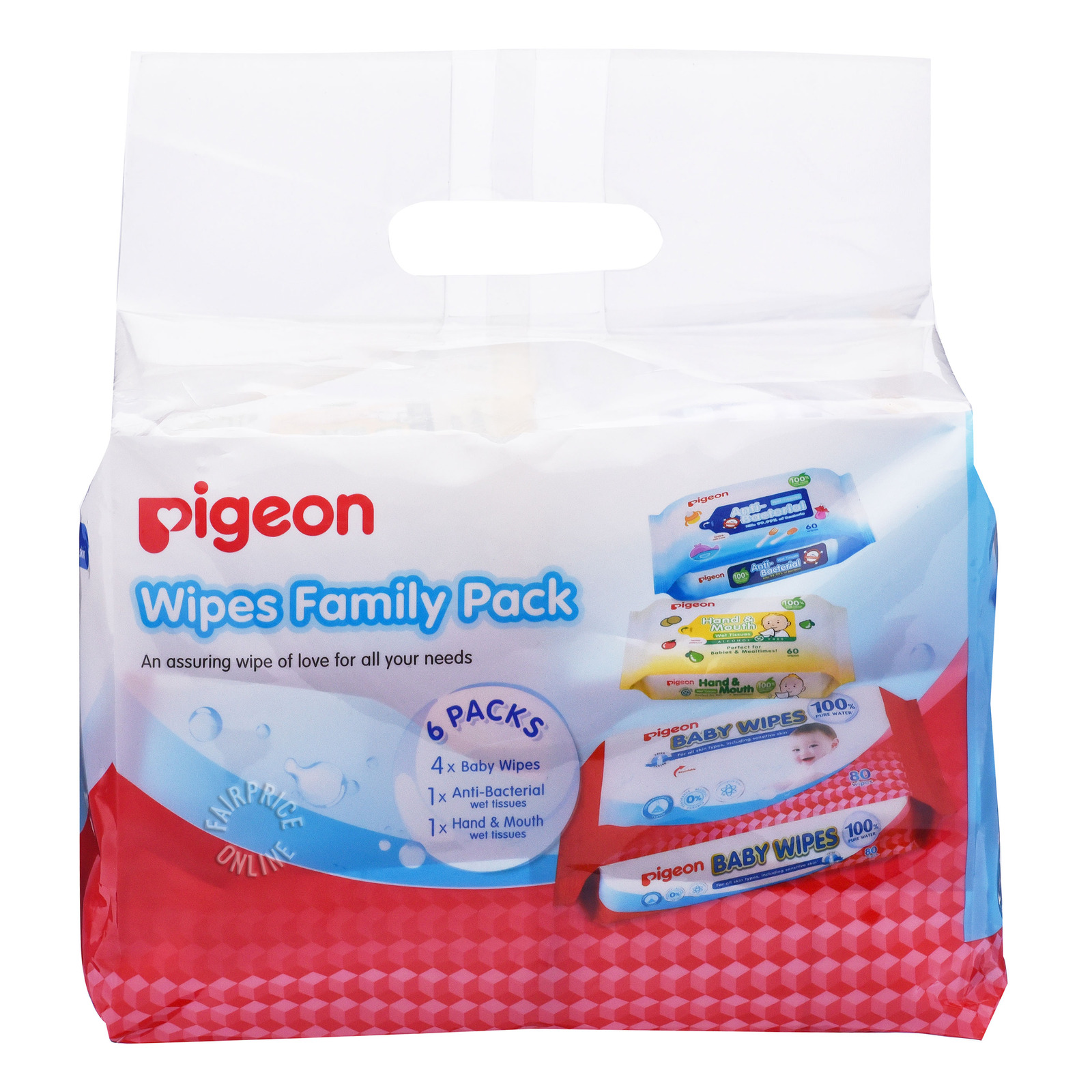 Pigeon Wipes Family Pack