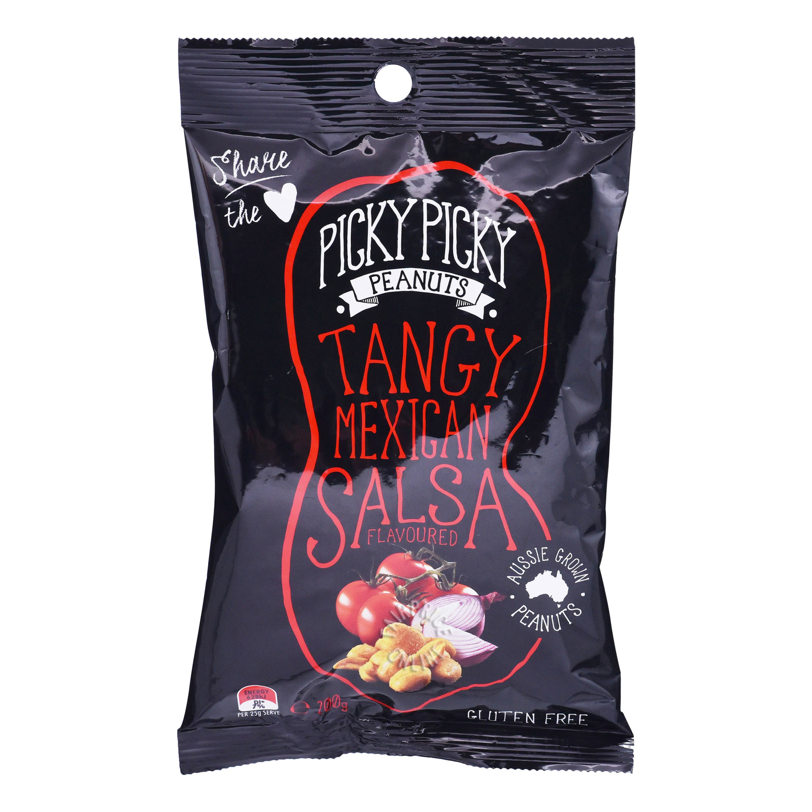 Picky Picky Peanuts Nuts - Tangy Mexican Salsa