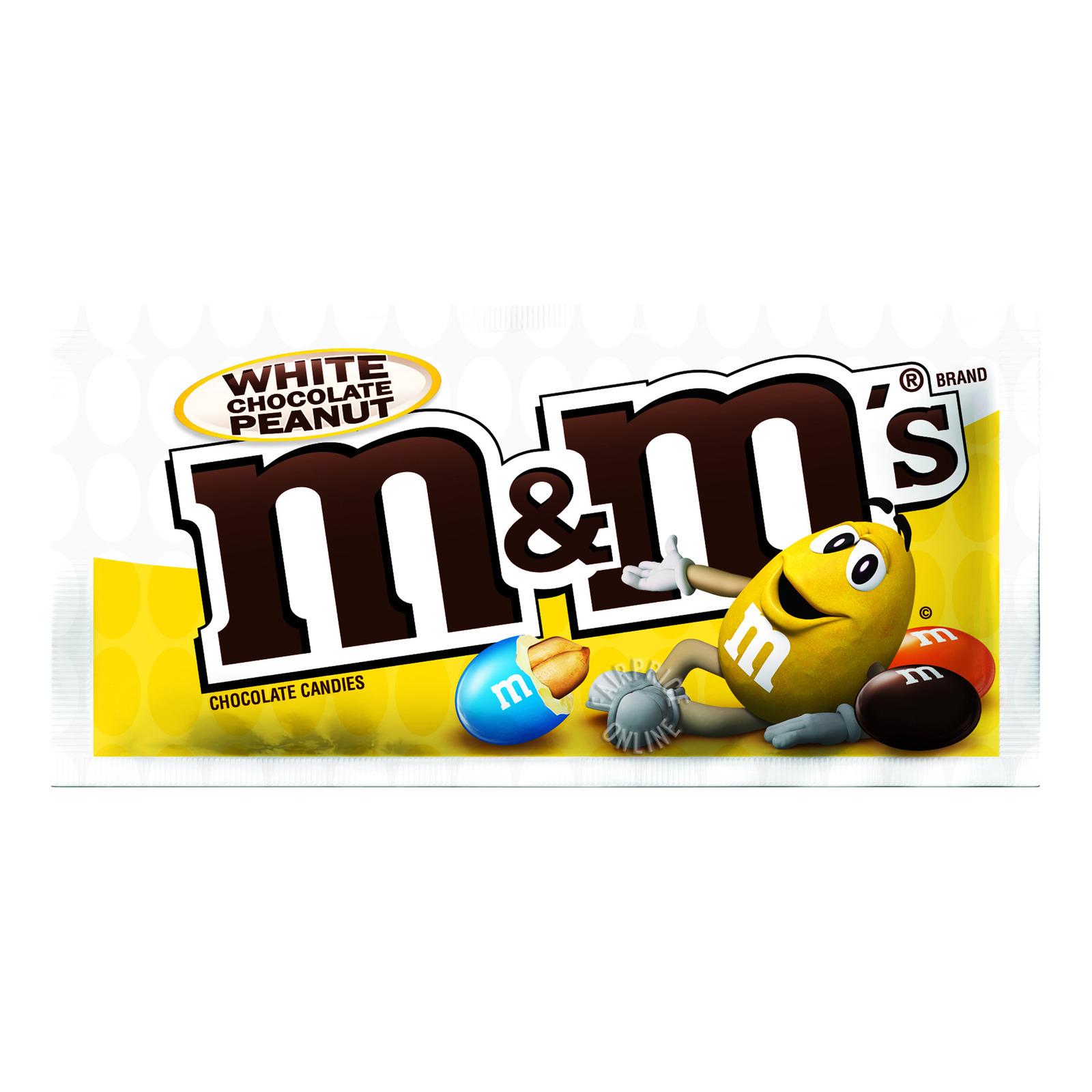 M&M's Chocolate Candies - White Peanut