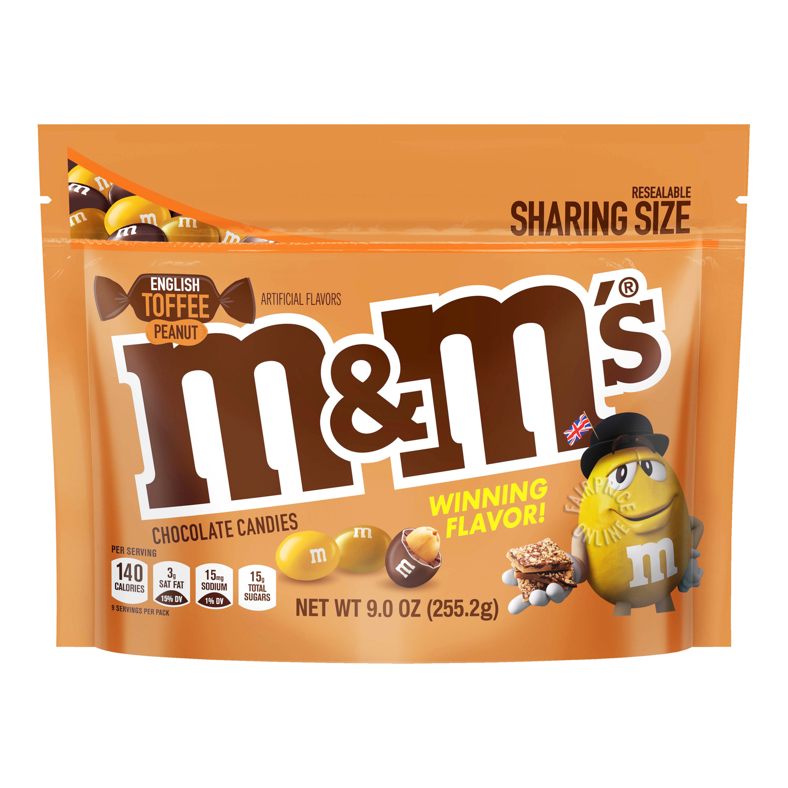 M&M's Chocolate Candies - English Toffee Peanut