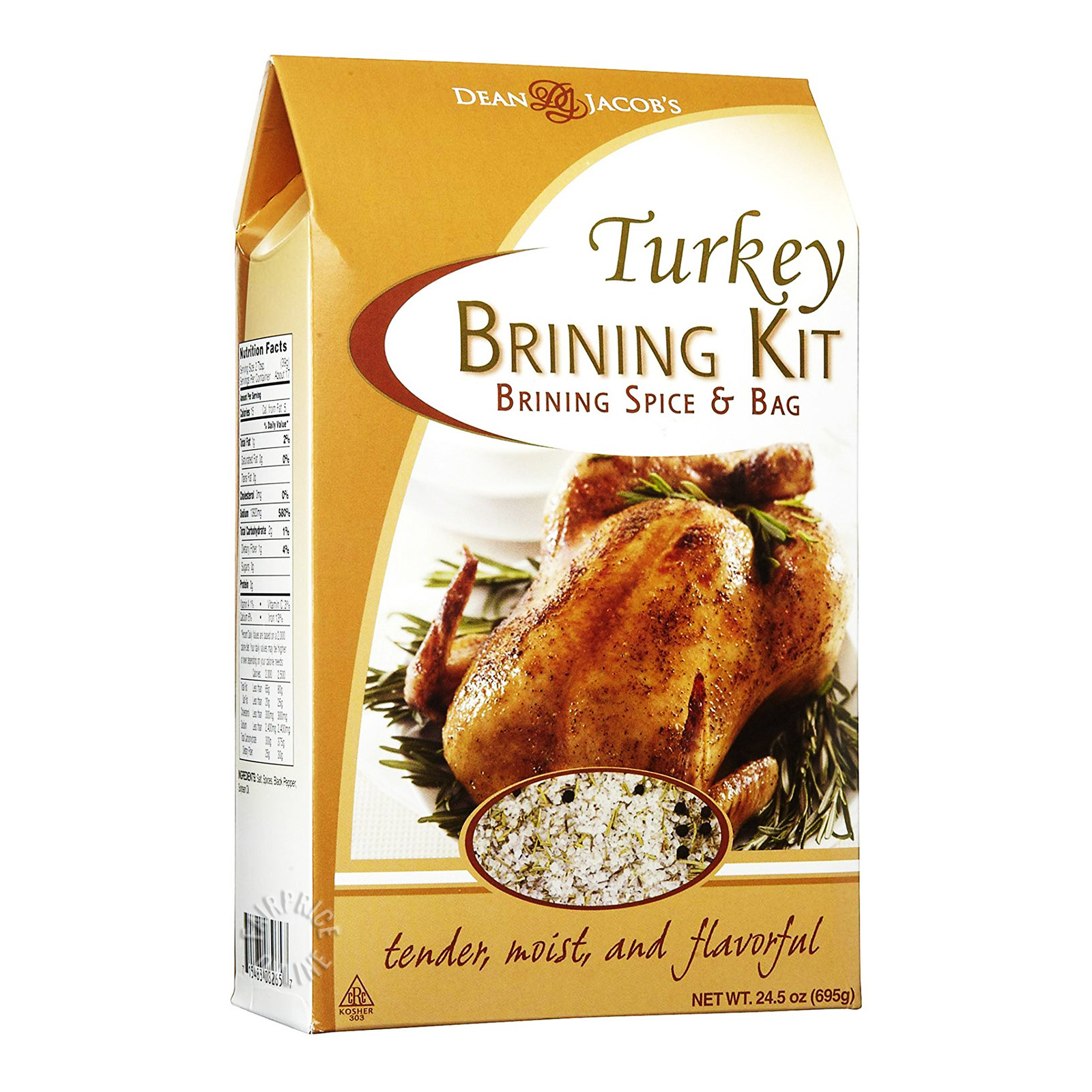 Dean & Jacob's Turkey Brining Kit - Spice & Bag