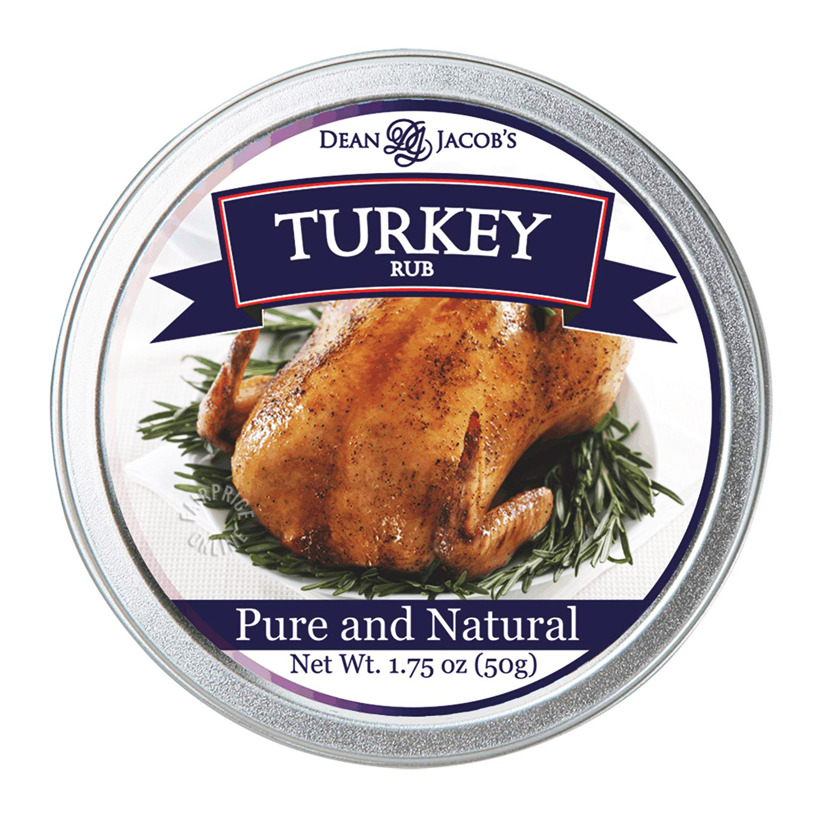 Dean & Jacob's Pure & Natural Turkey Rub
