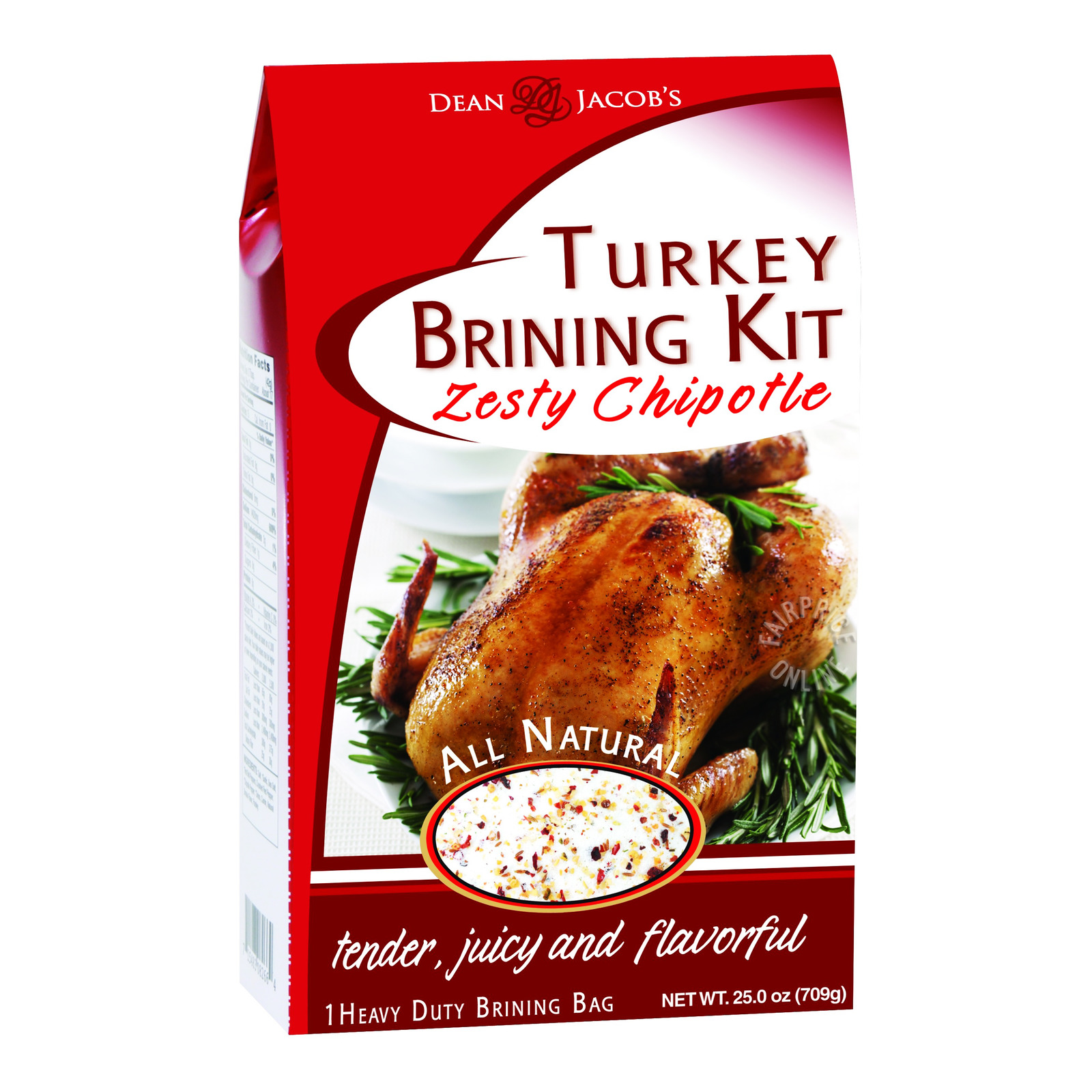 Dean & Jacob's Turkey Brining Kit - Zesty Chipotle