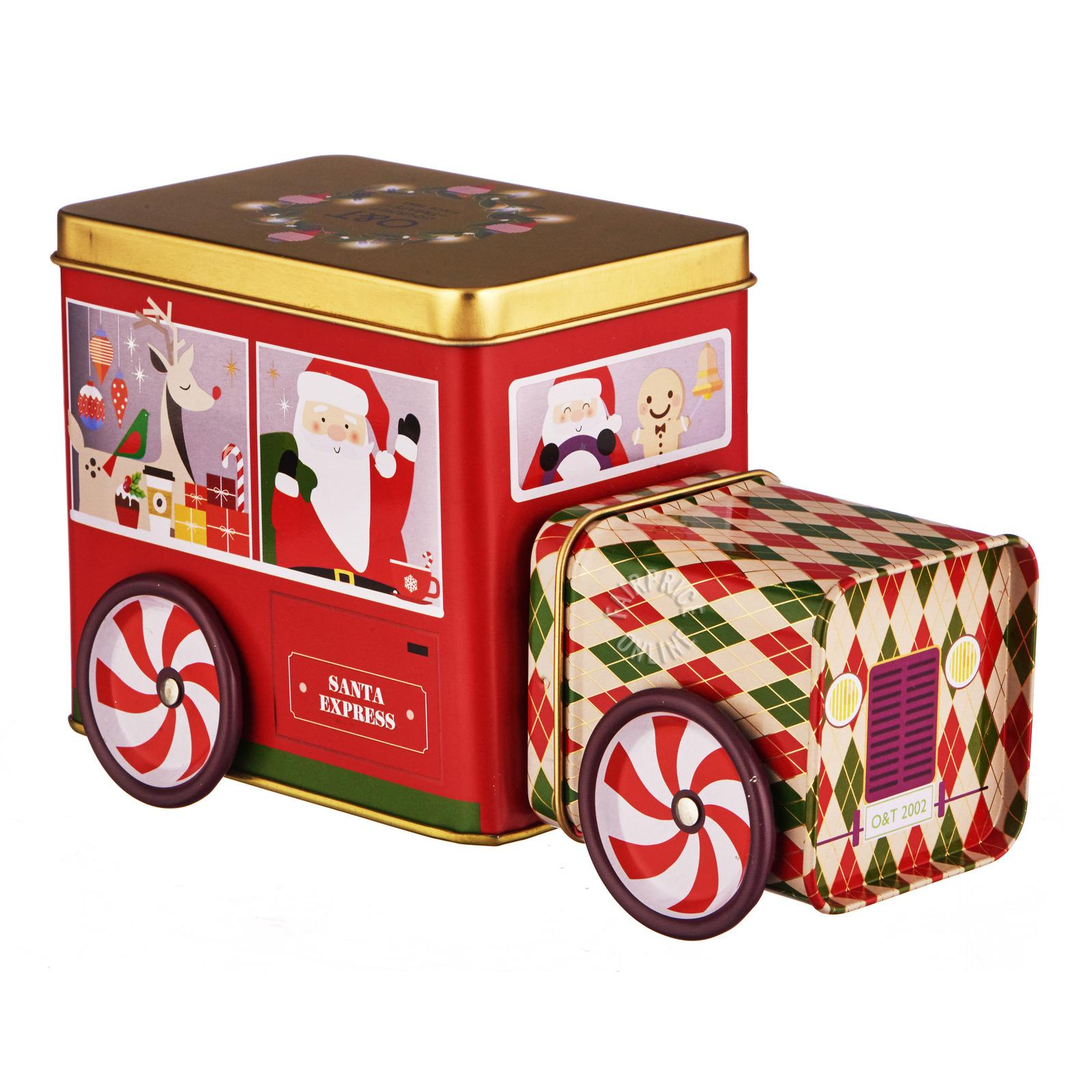 O&T Gourmet Treats - Christmas Bus