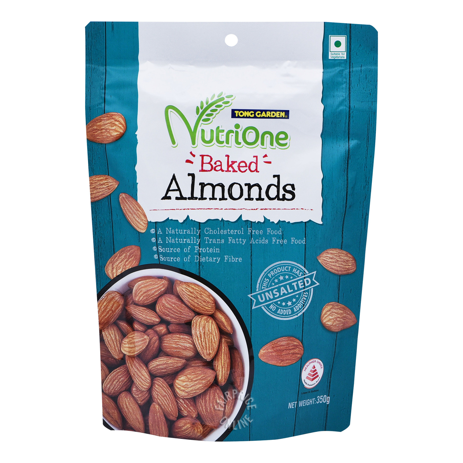 Tong Garden Nutrione Nuts - Baked Almonds