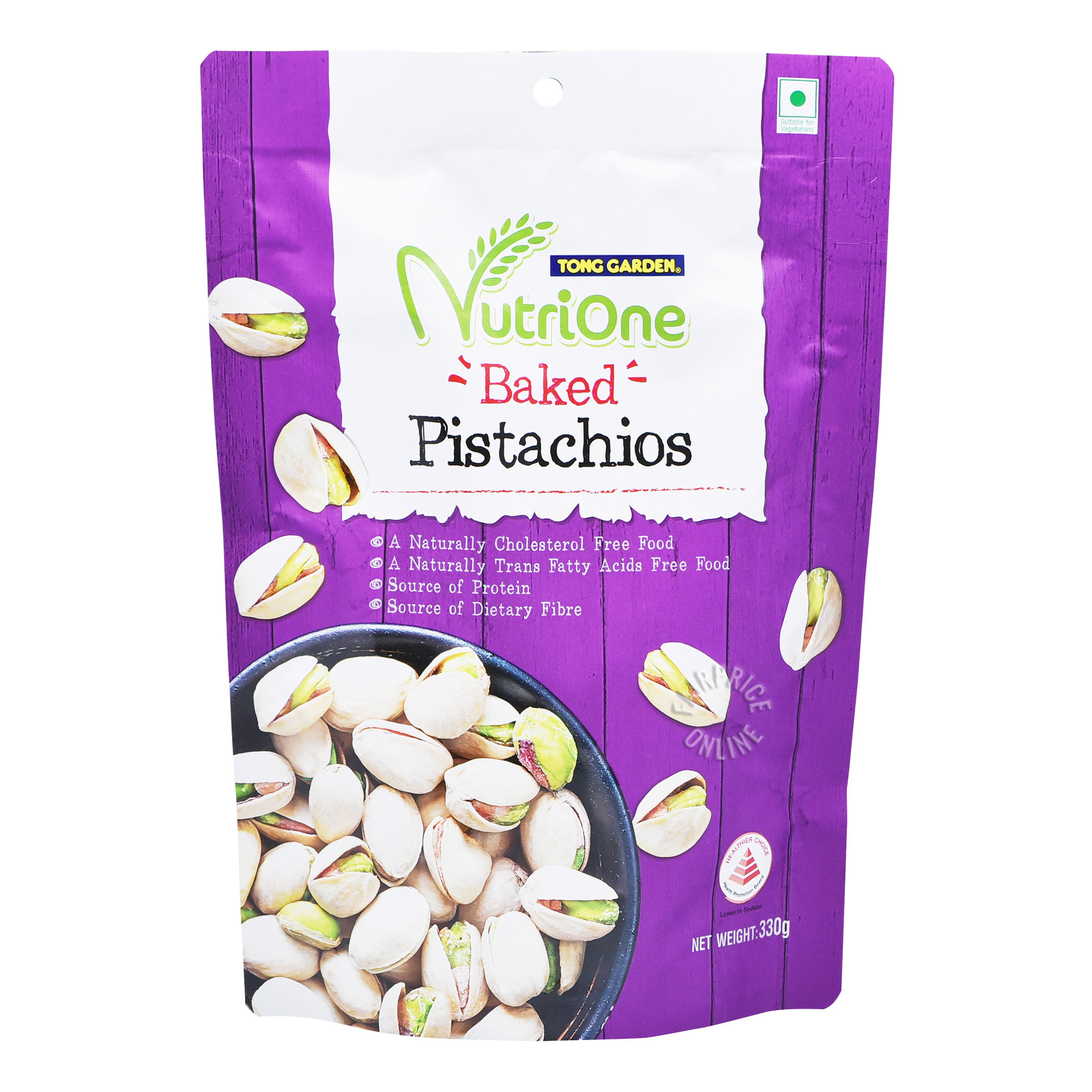 Tong Garden Nutrione Baked Nuts - Pistachios