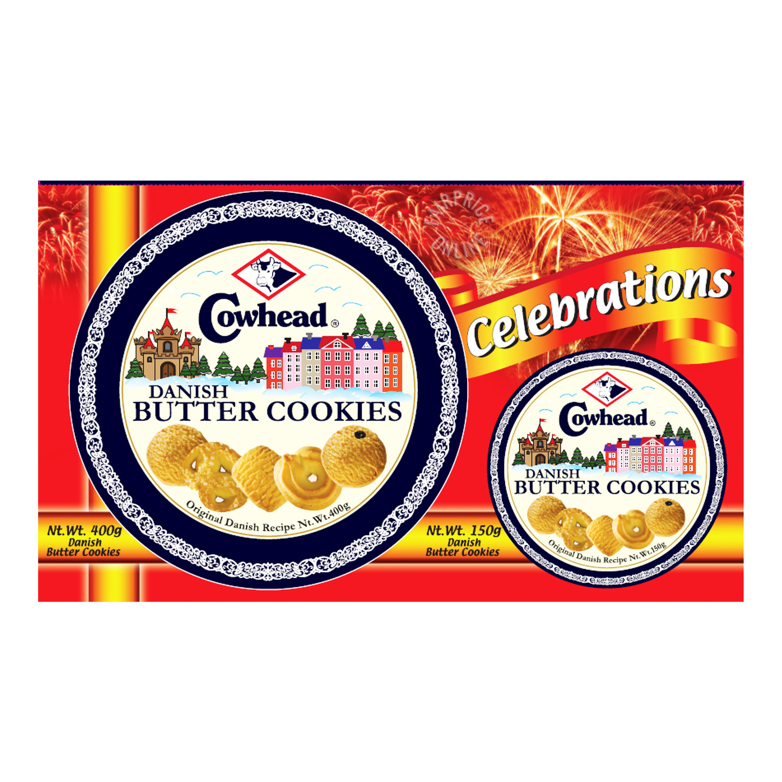 Cowhead Danish Butter Cookies