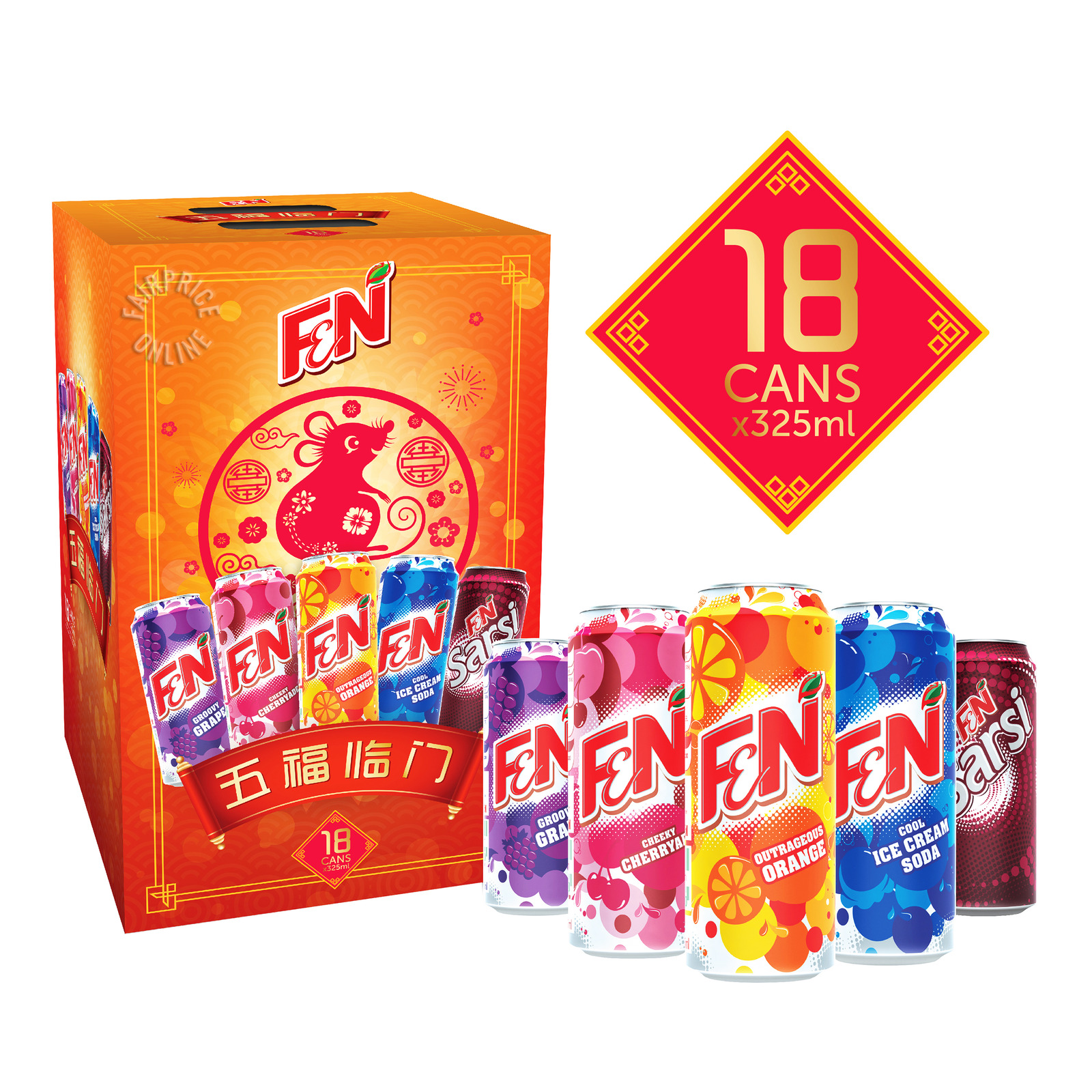 F&N CNY Can Drink - Assorted