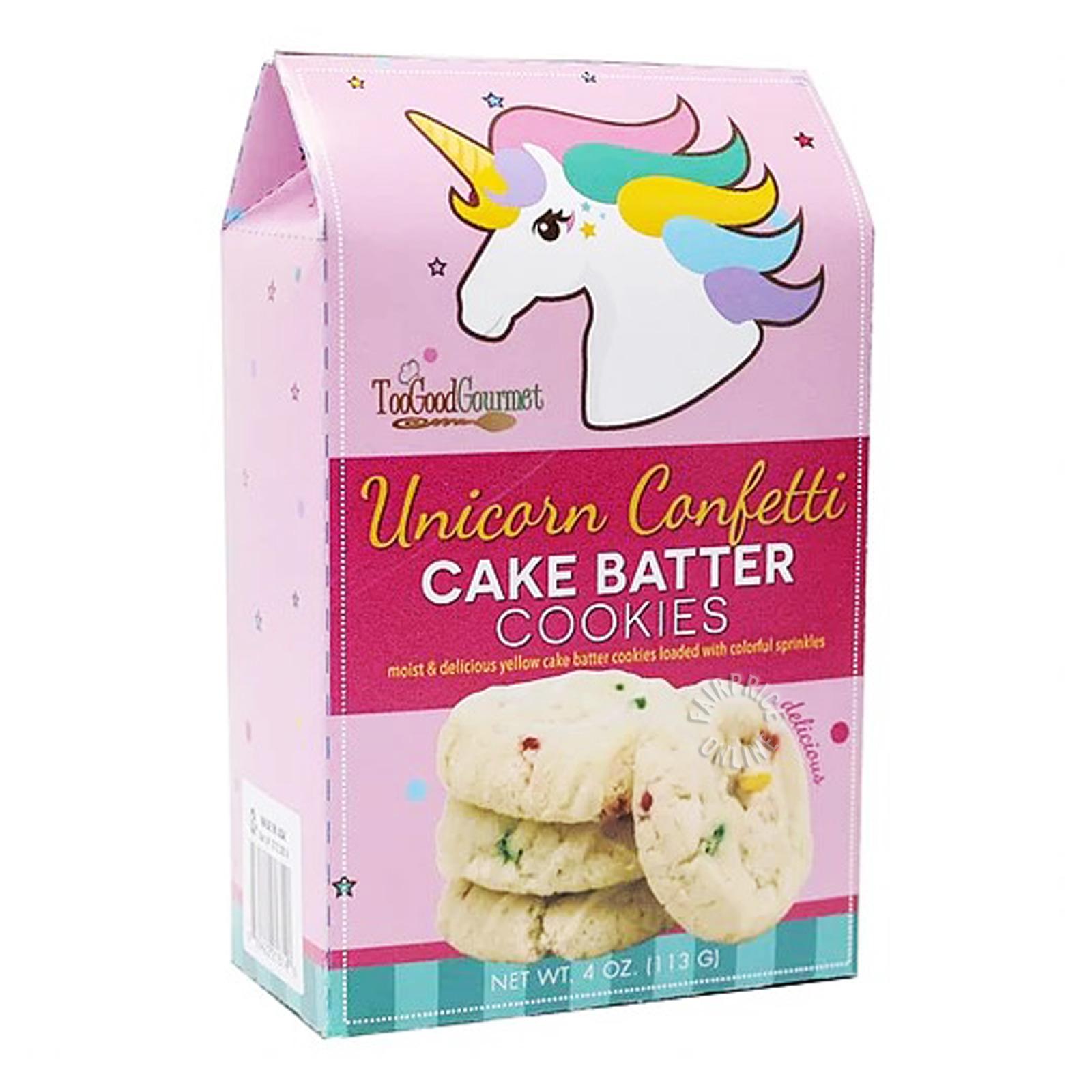 TGG Cake Batter Cookies - Unicorn Confetti