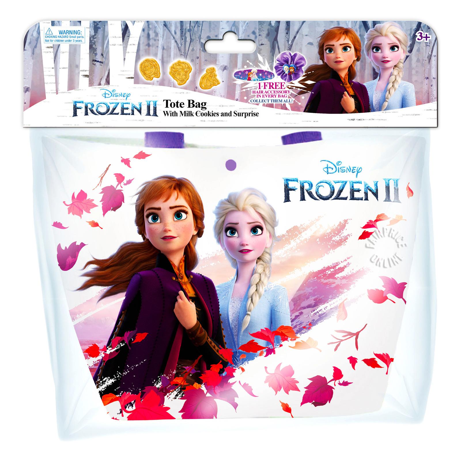 Disney Tote Bag with Milk Cookies & Surprise - Frozen II