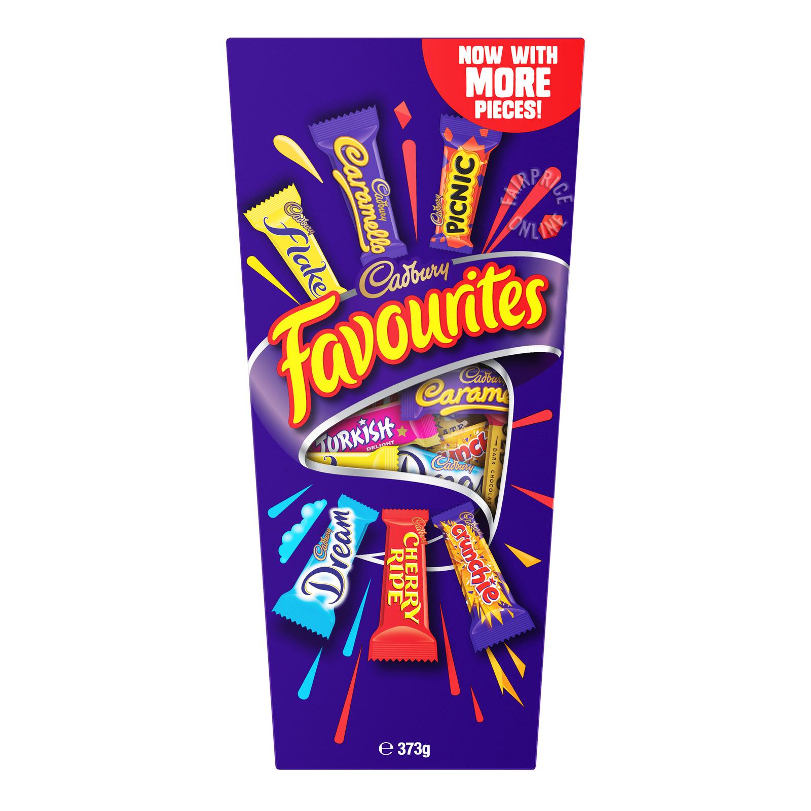 Cadbury Chocolate - Favourites