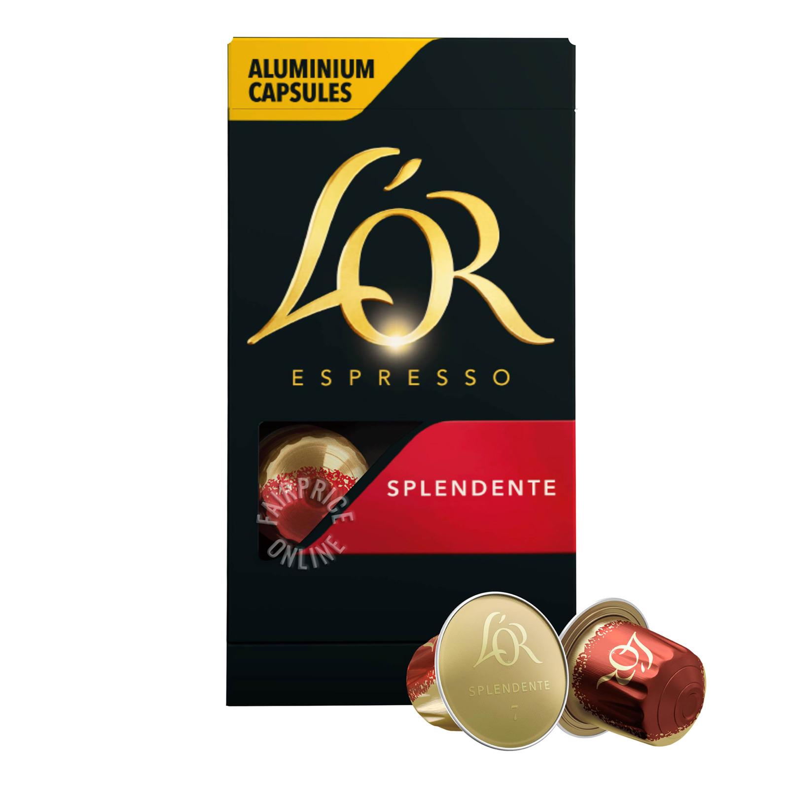 L'OR Espresso Ristretto Intensity 11 - Nespresso Compatible Coffee Capsules