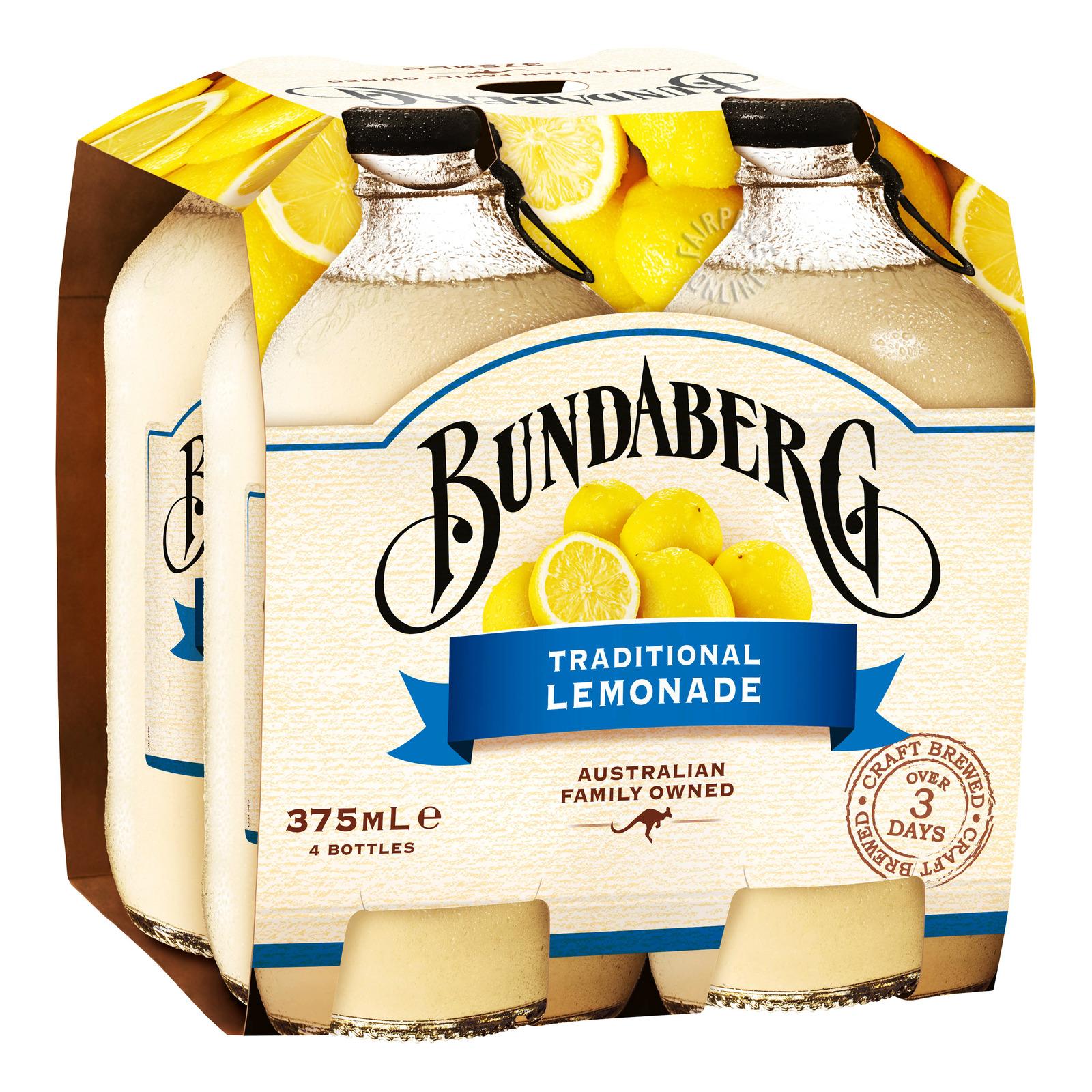 Bundaberg Bottle Drink - Traditional Lemonade