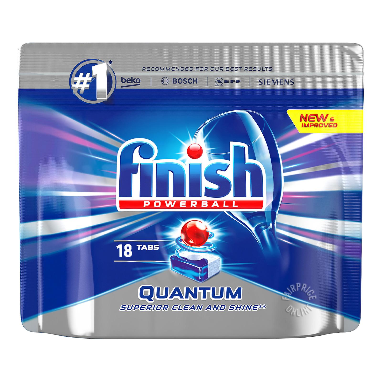 Finish Powerball Dishwasher Detergent Washer - QuantumMax
