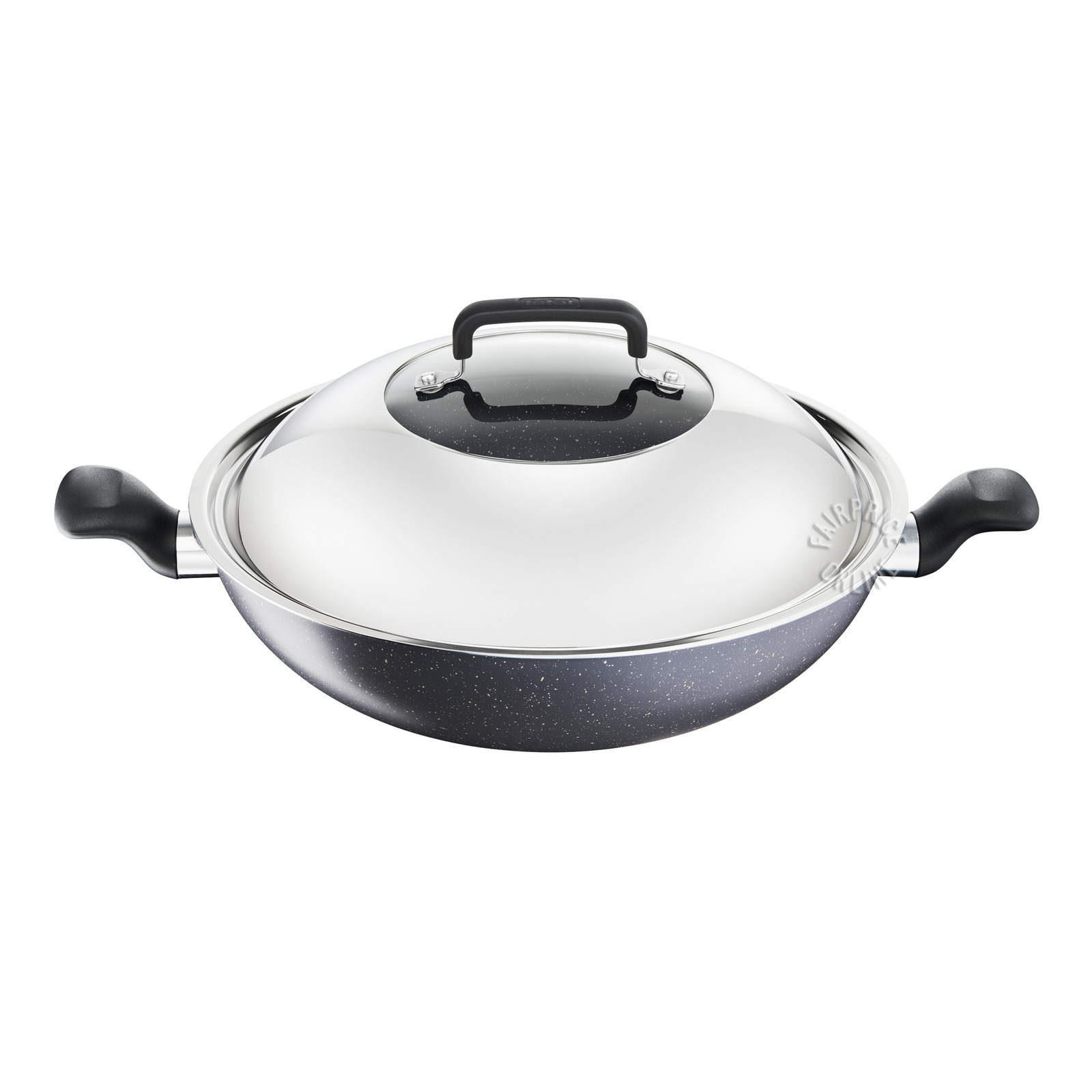 Tefal Natural Wok with Lid - 34cm