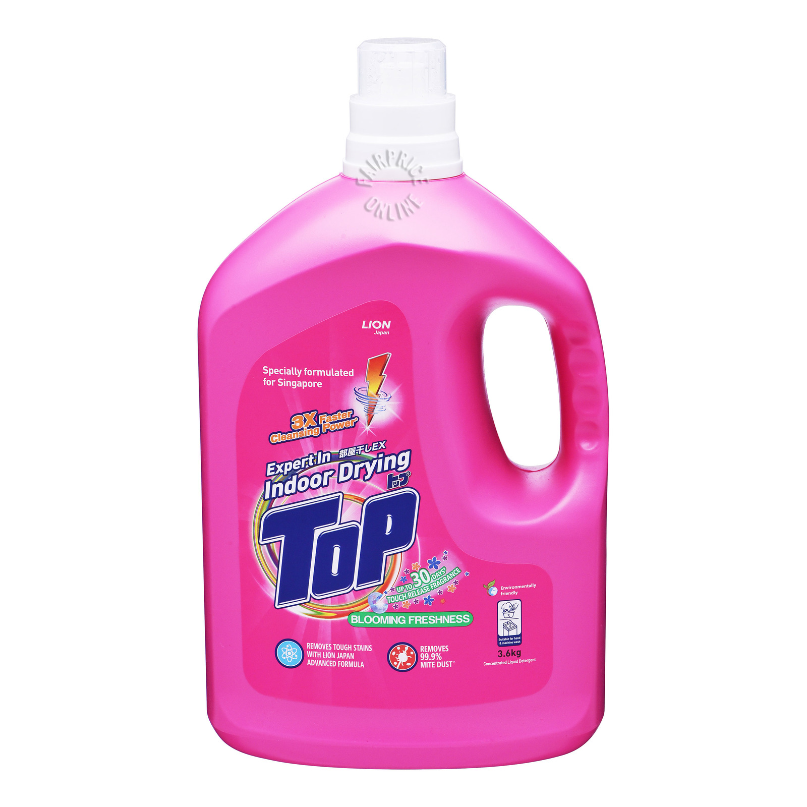 Top Concentrated Liquid Detergent - Blooming Freshness