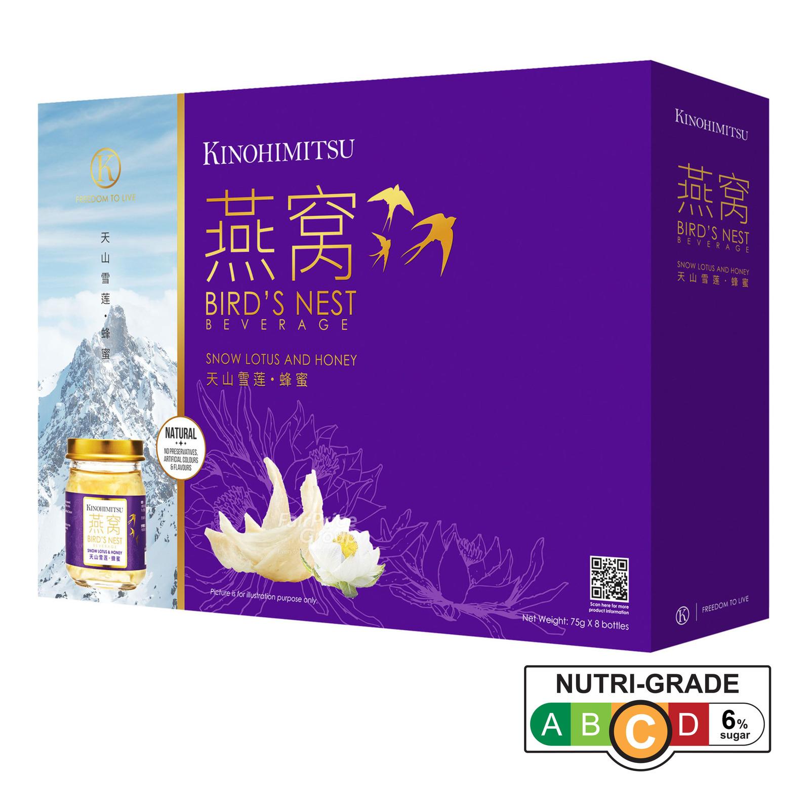 Kinohimitsu Bird's Nest - Snow Lotus & Honey
